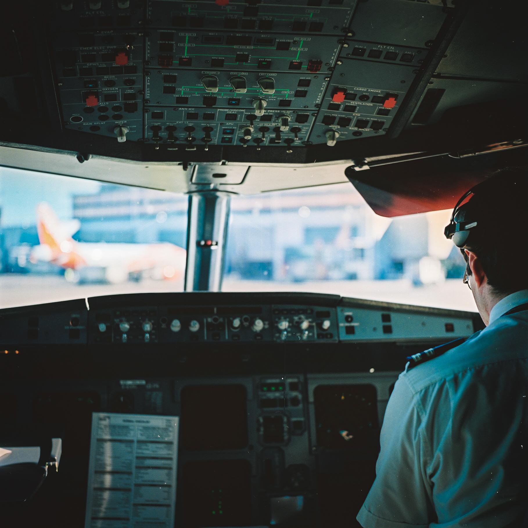 Pre-Flight Checks, Portra 400