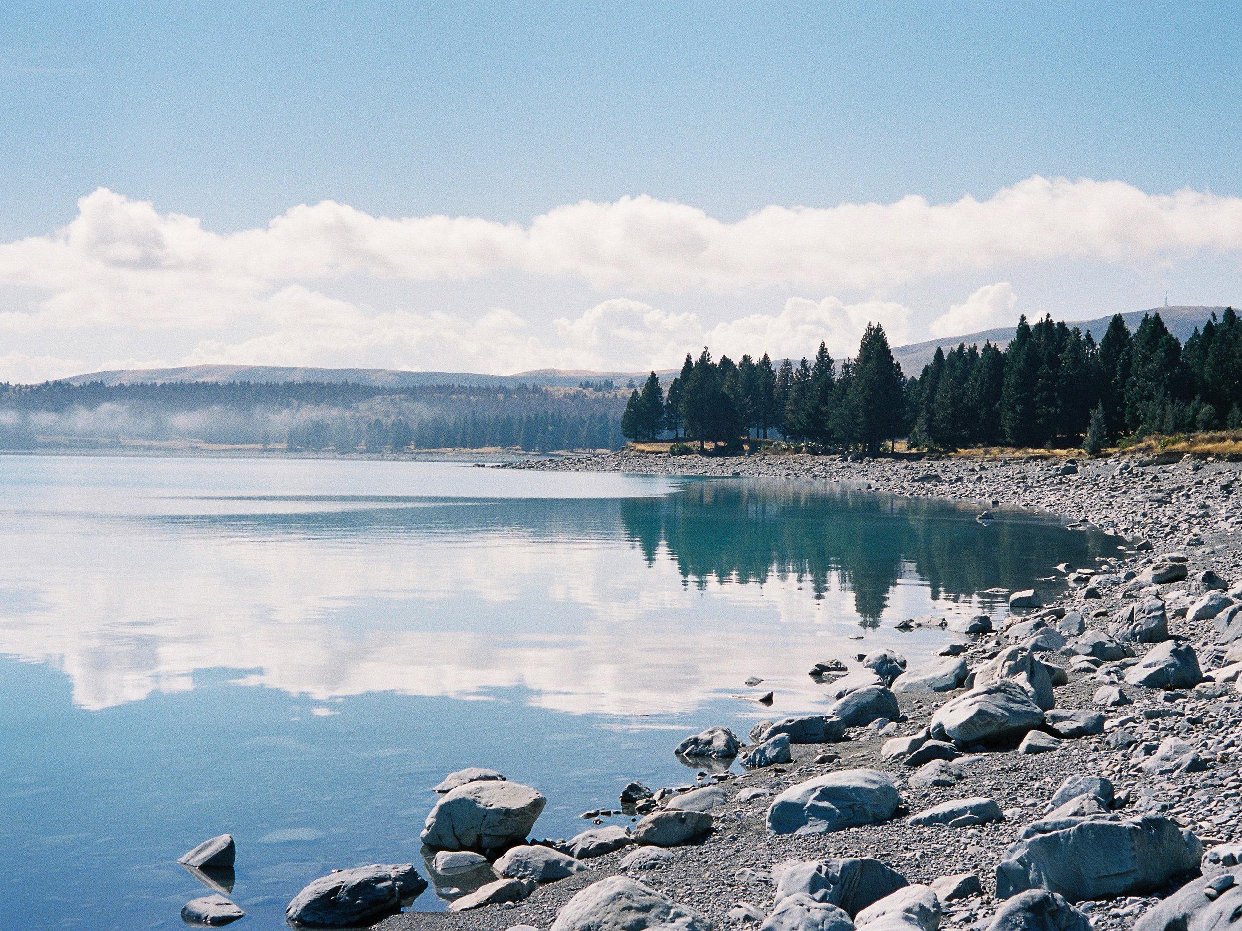 Pukaki Shoreline