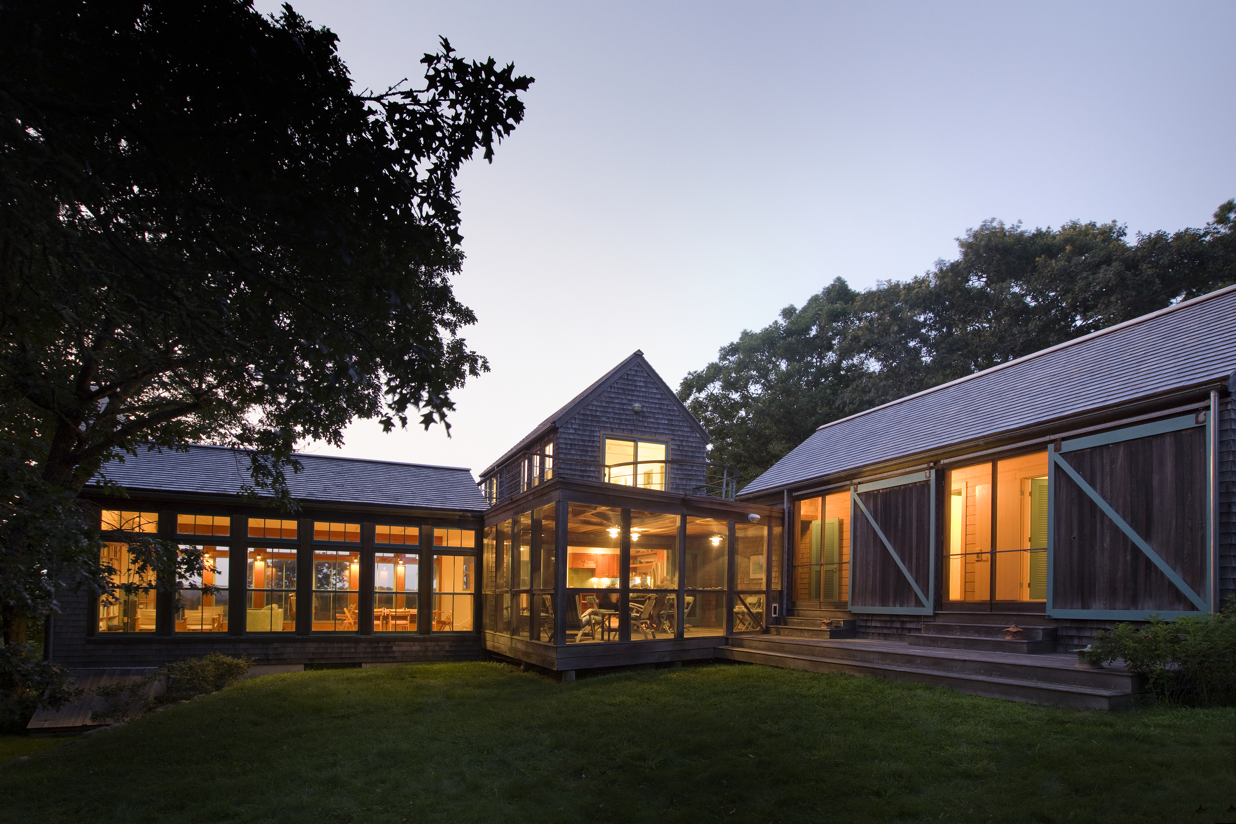 HOUSE AND STUDIO, CHILMARK