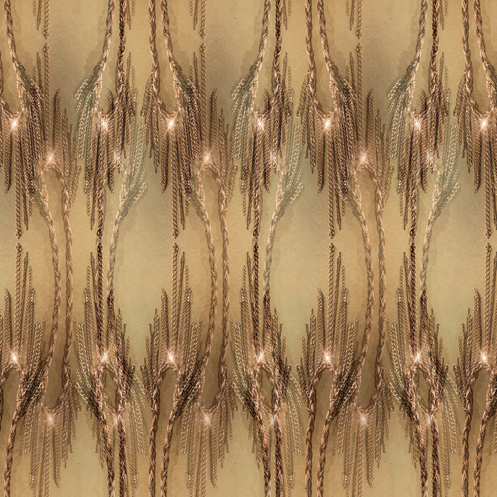 Golden Fringe detail.