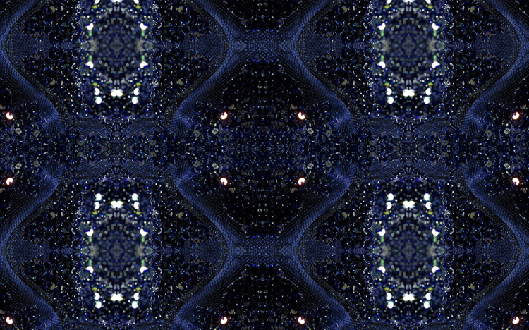 Marrakesh Sequin Blue