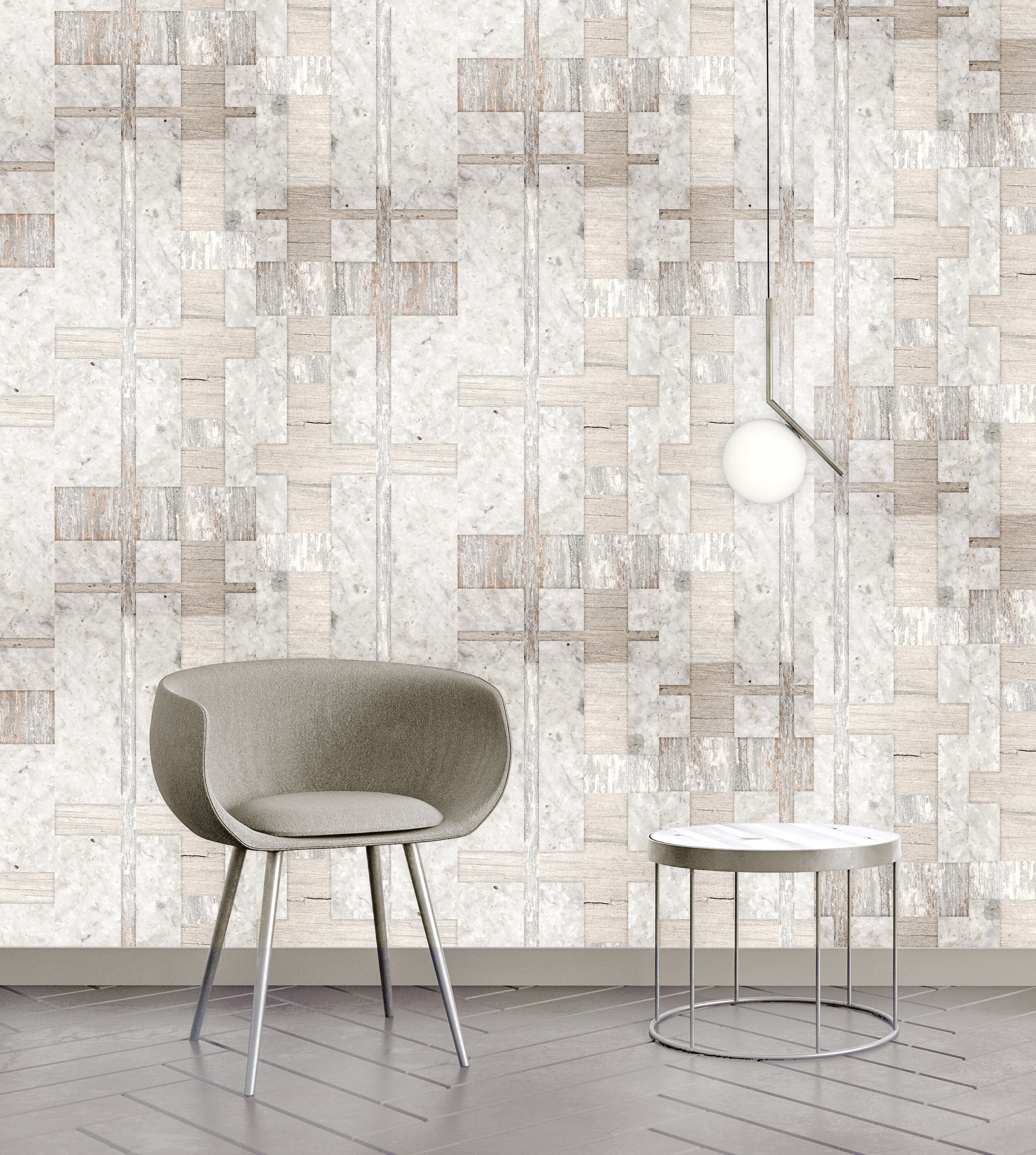 Kings Landing  {Eco friendly recycled Type II} also available on Iridescent natural grasscloth
