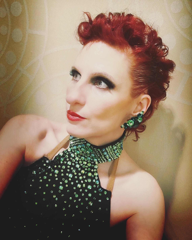 Dress Courtesy of  Encore Ballroom Couture  Hair & Make-up by Melanie Rivera