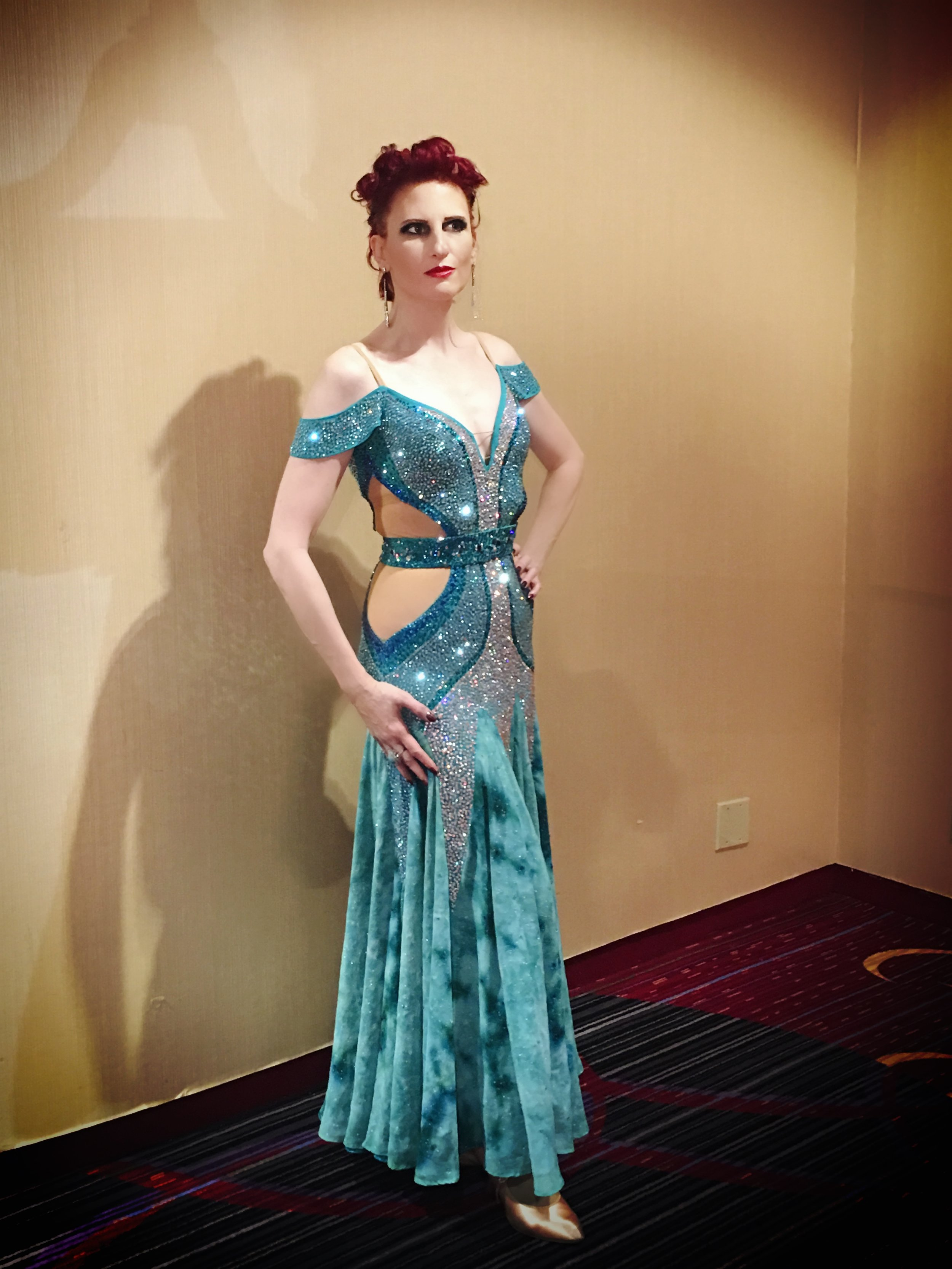 Dress Courtesy of  Classic Ballroom Elegance  Hair & Make-up by Melanie Rivera