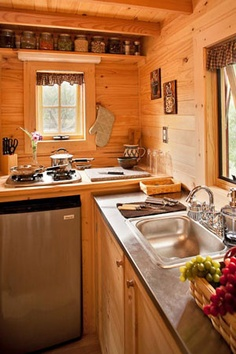 A Kitchen from a Tumbleweed
