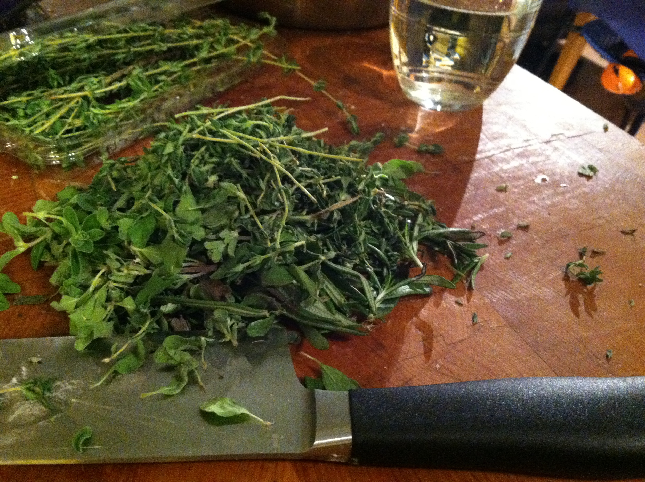 Fresh Herbs are best if you have them