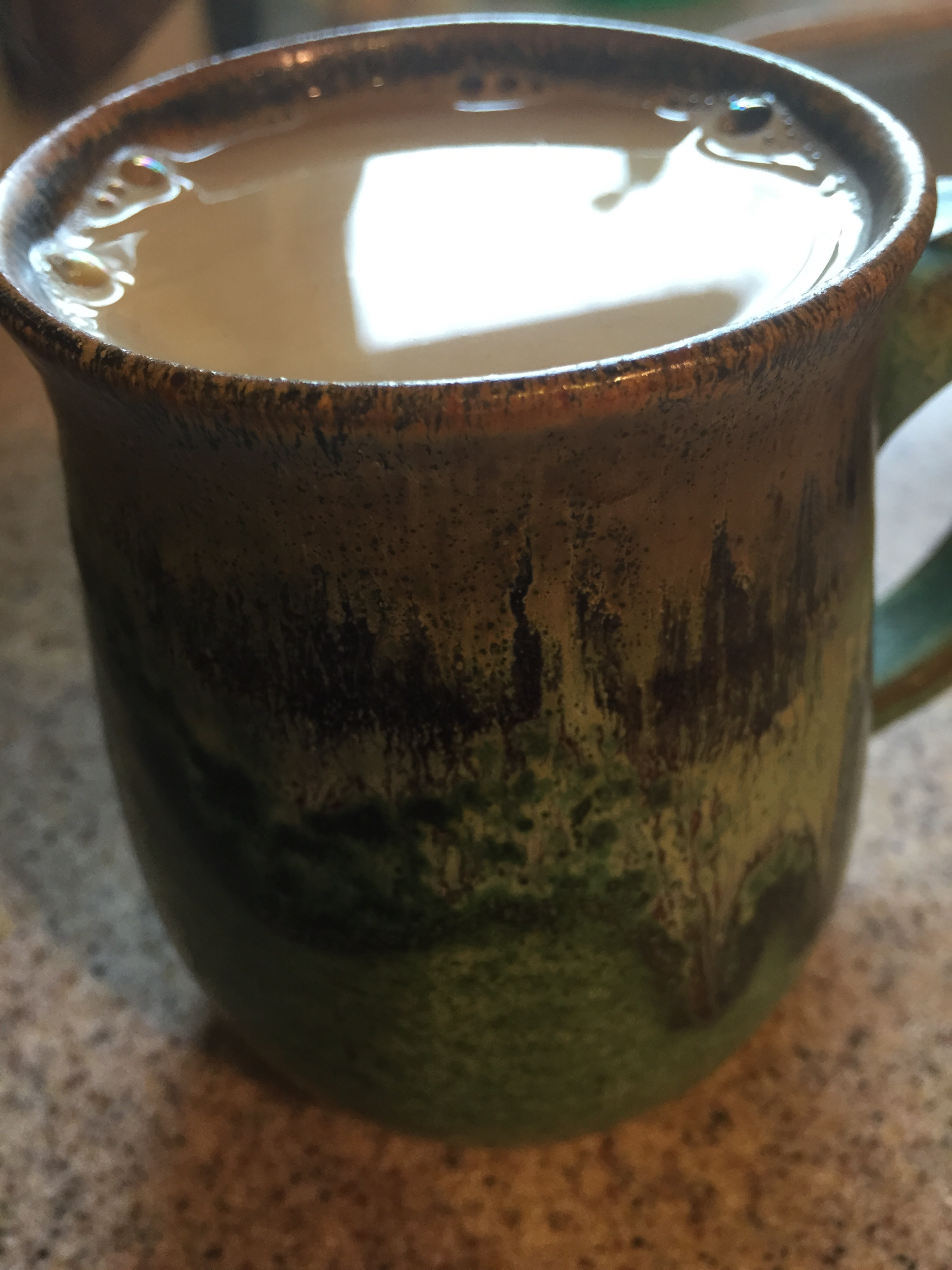 This was an afternoon cup of joe that I did add cream too :) Sometimes you need to soften things, but that's a post for another day.