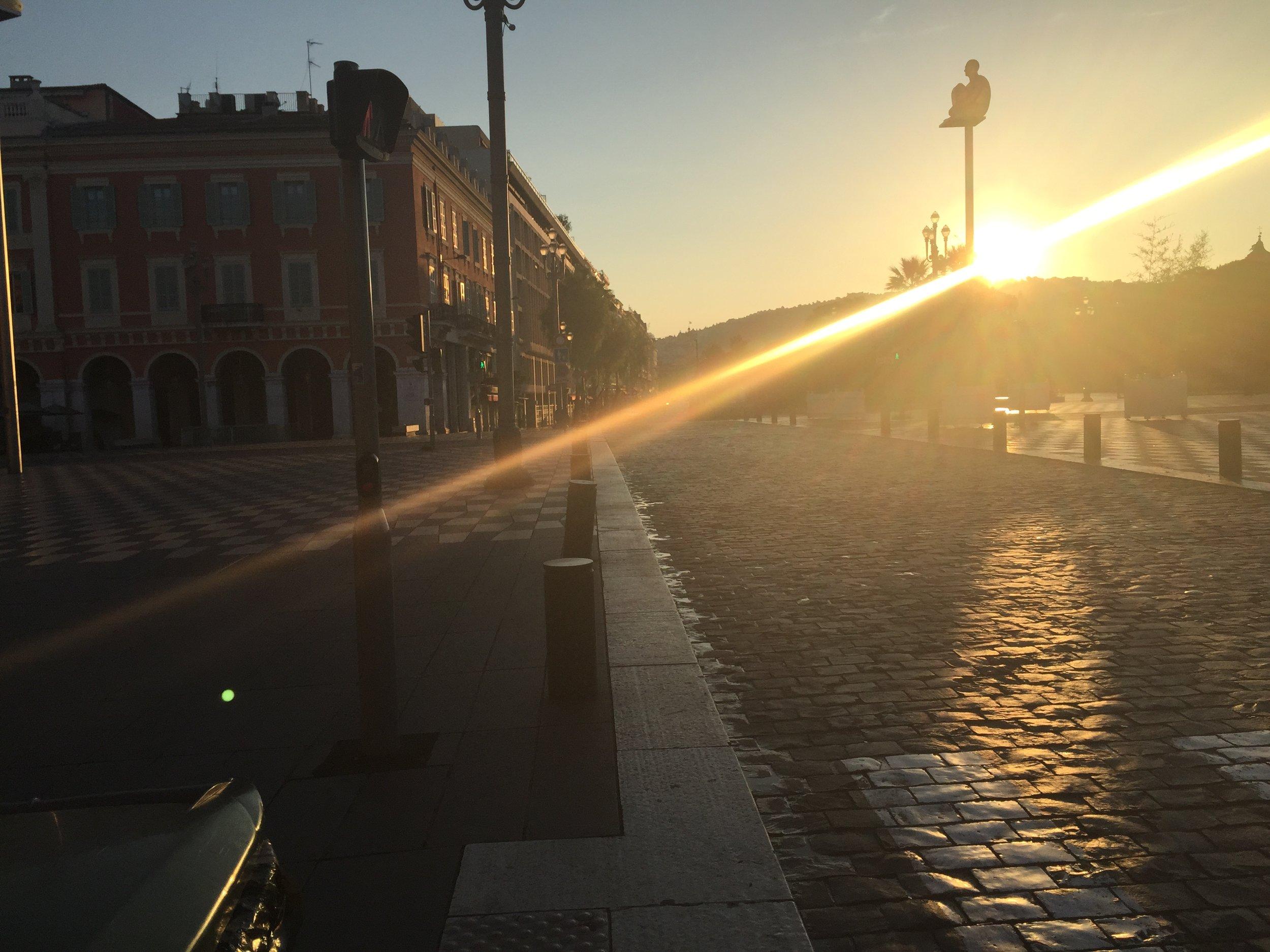 Morning Sun in Nice