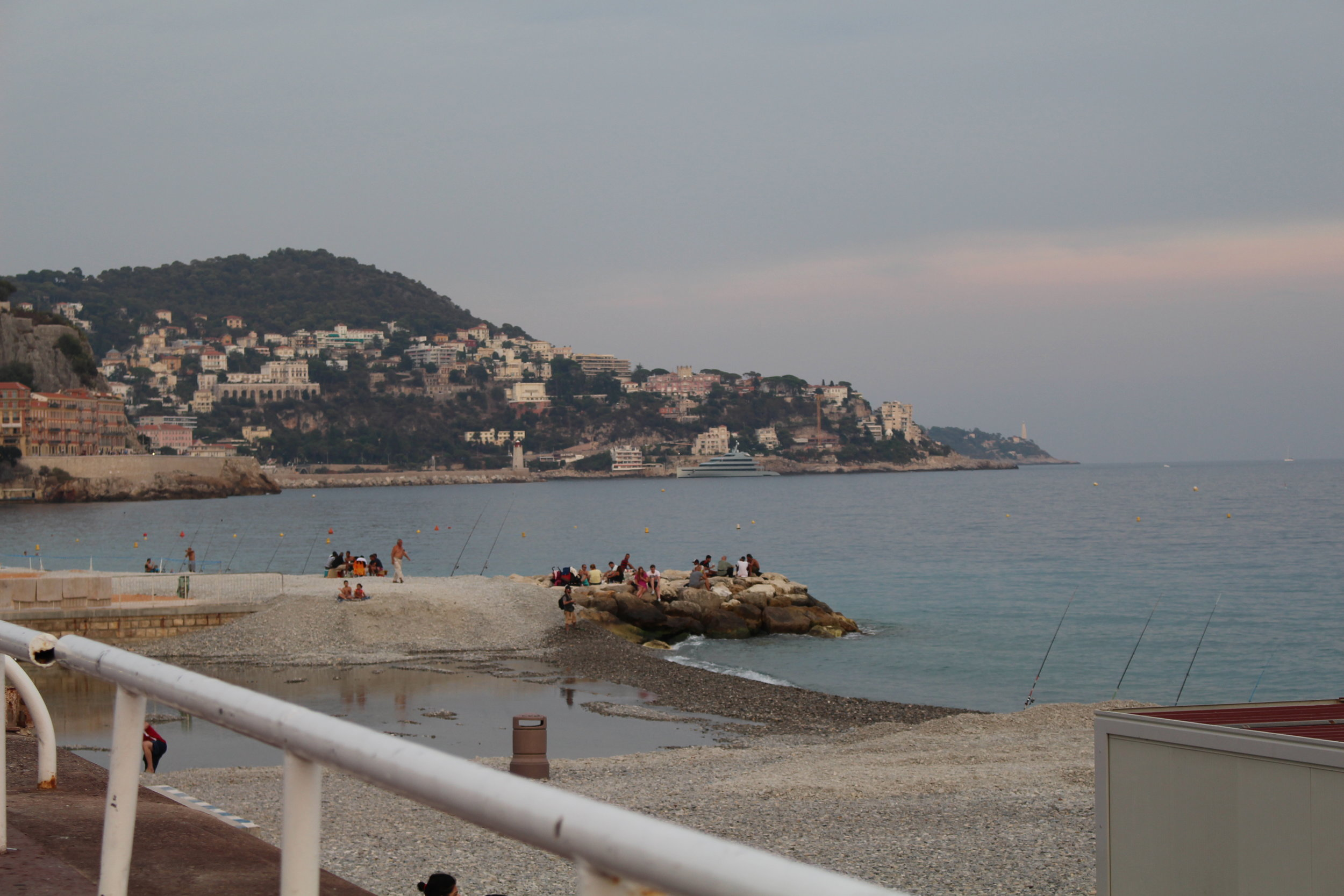 Fishing in Nice France