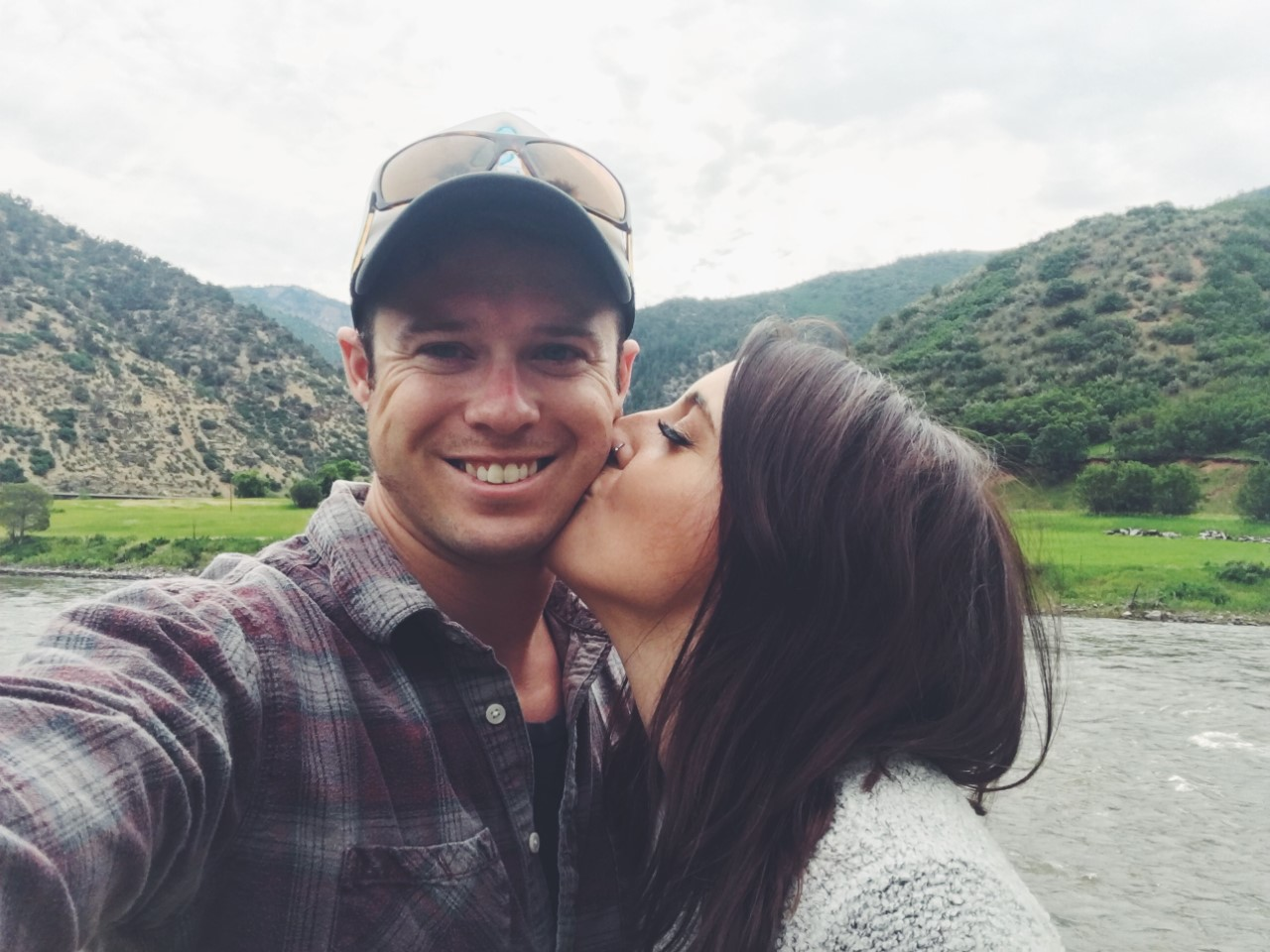 Lauren and her Husband