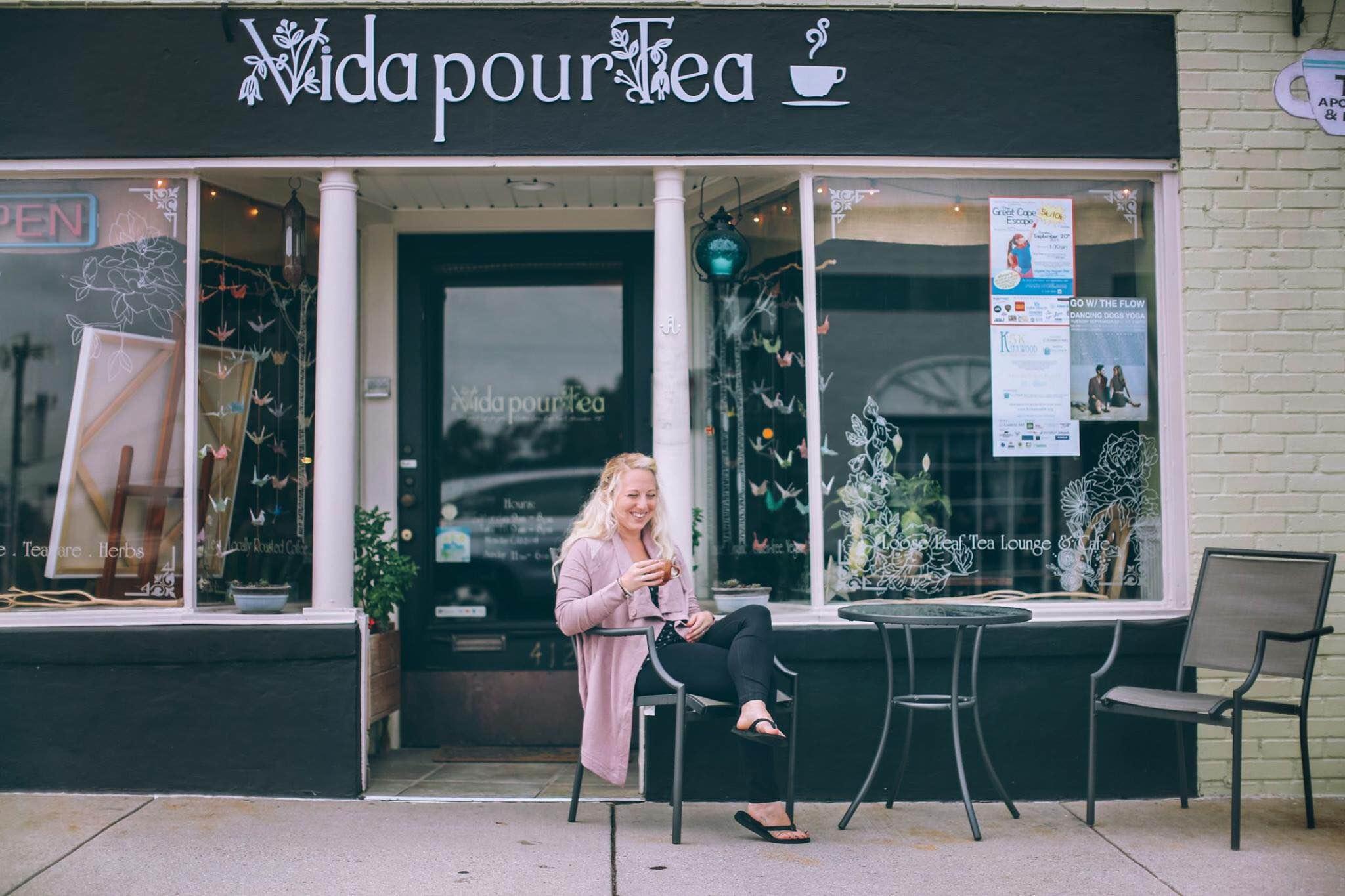 Sarah Chapman of Vida Pour Tea