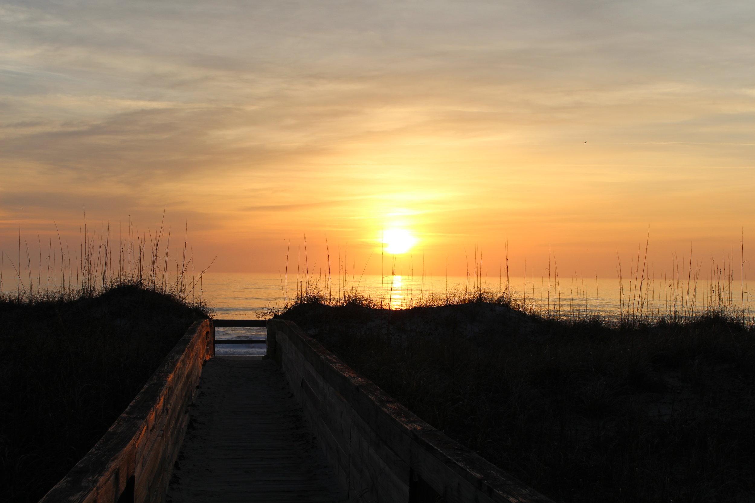Carolina Beach Sunrise