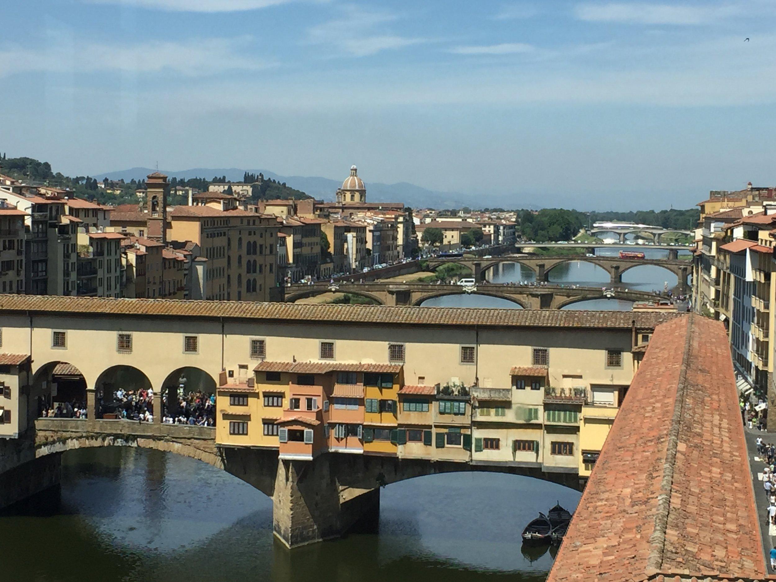 View from the Uffizi museum