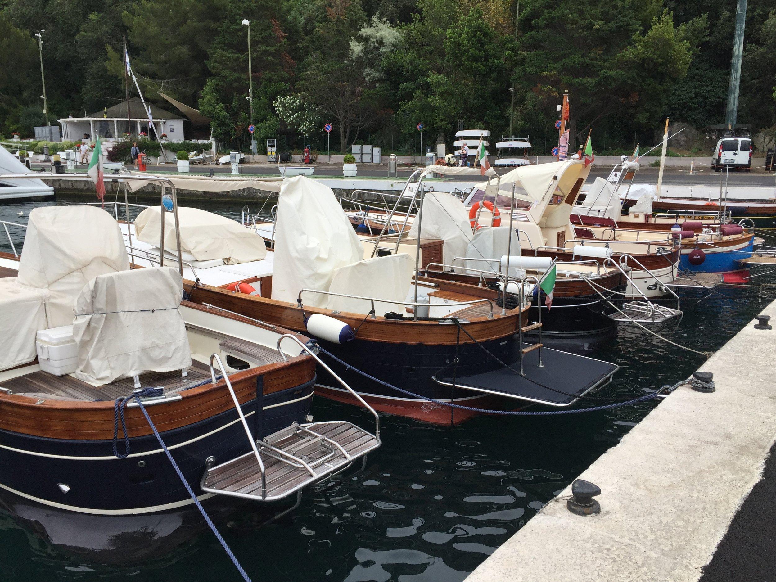 Boat Rides are a must in Capri