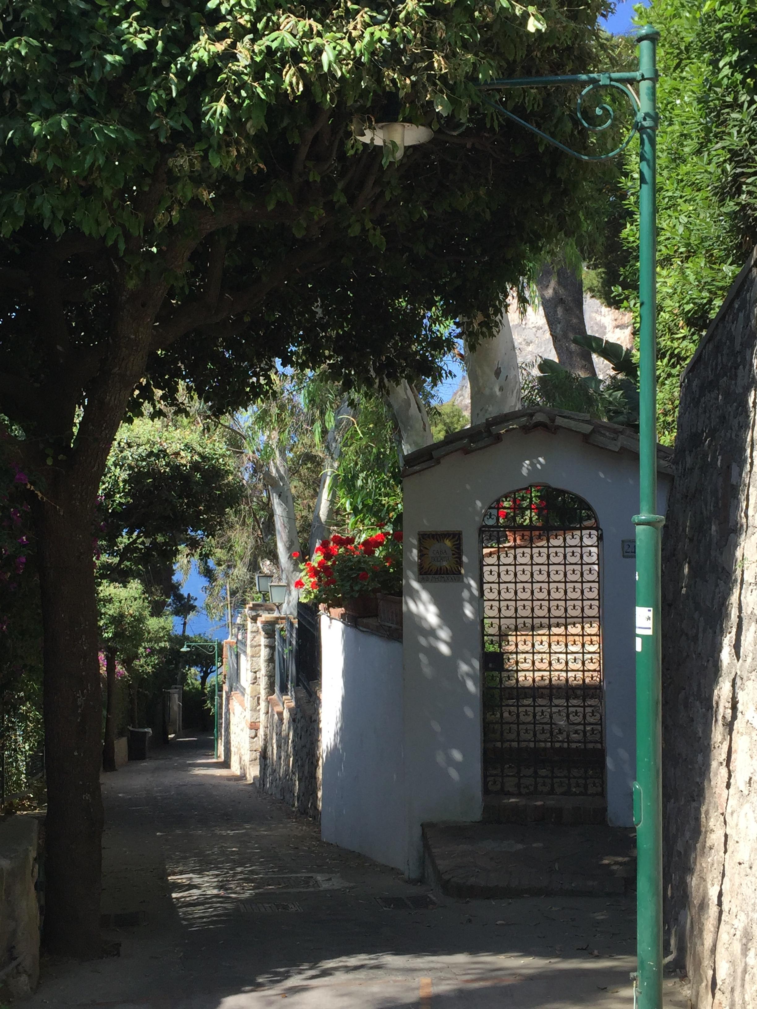 Take a stroll in Capri, Italy