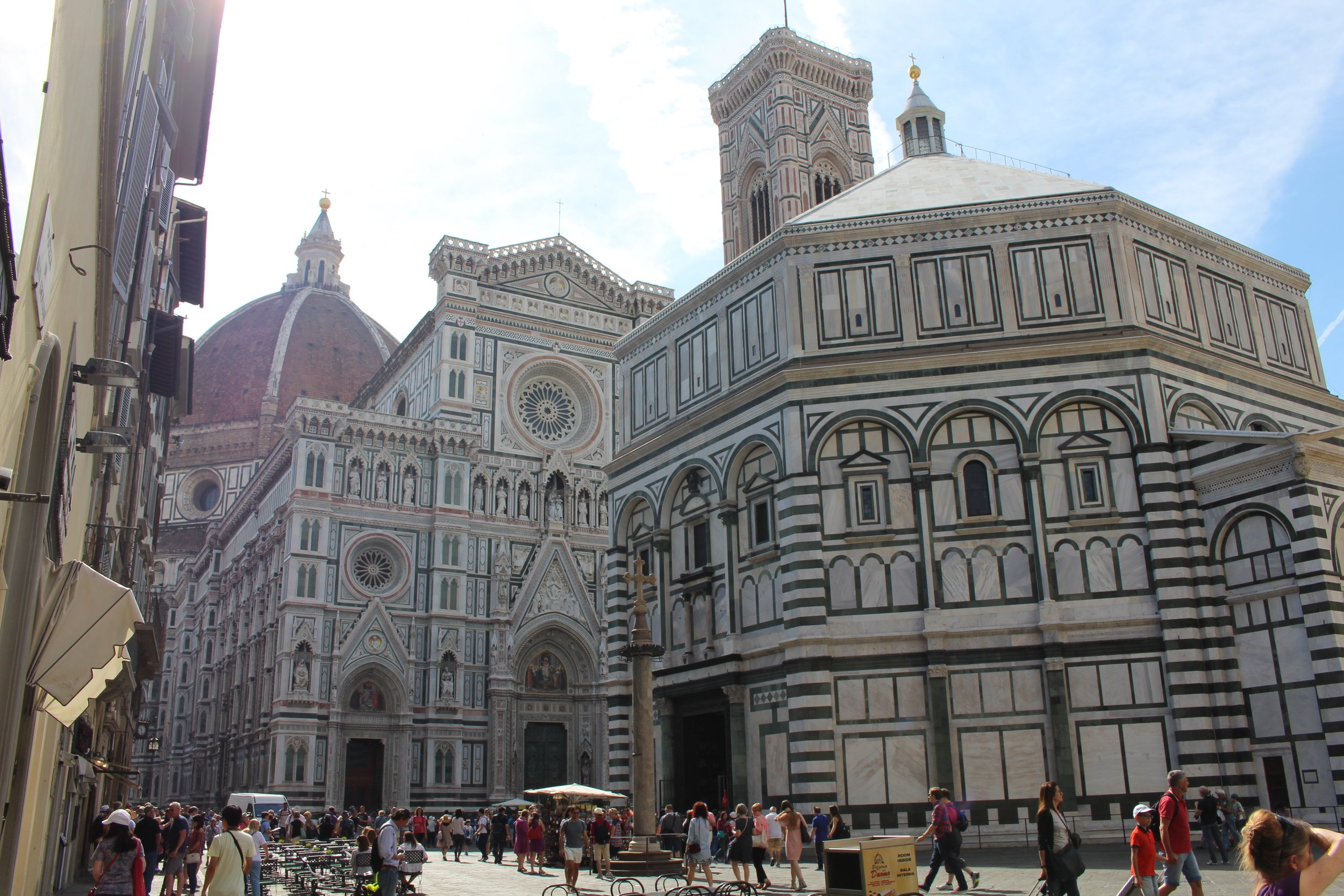 There are no words for this the Cathedral of Santa Maria De Fiore- The Duomo