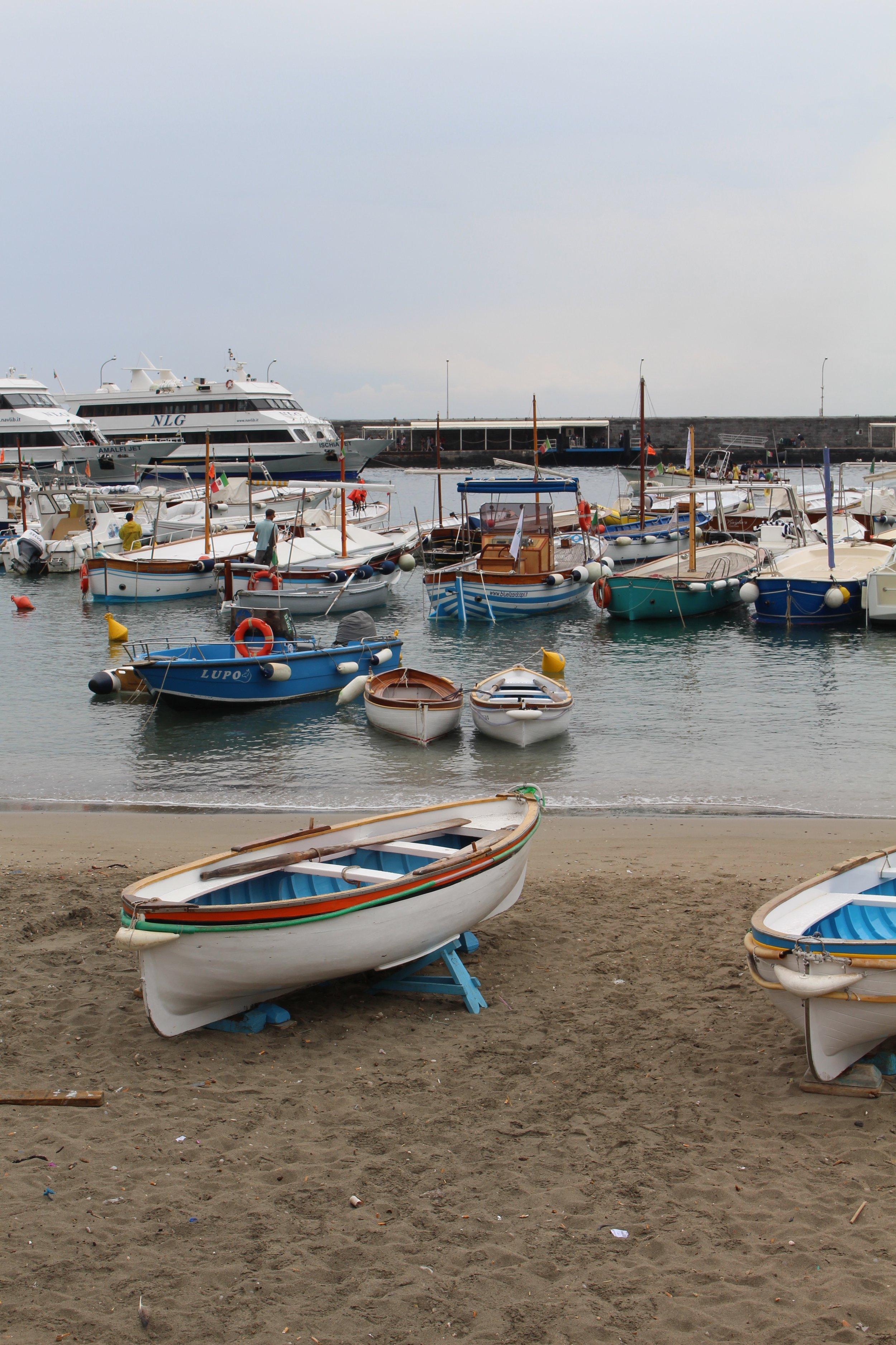 The Marina in Capri, Italy