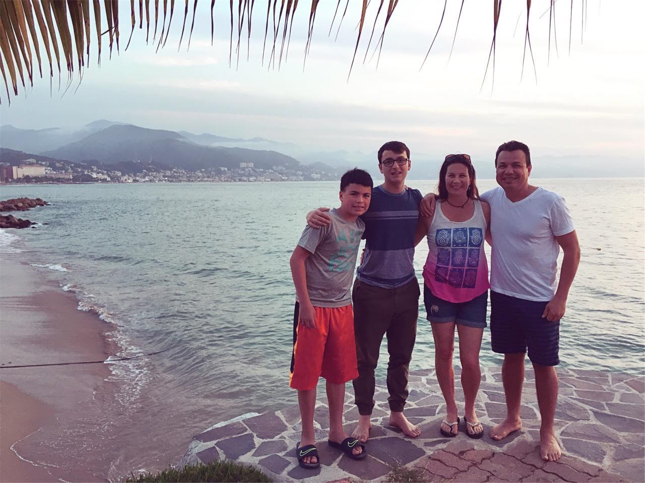Sara Alvarado and Family