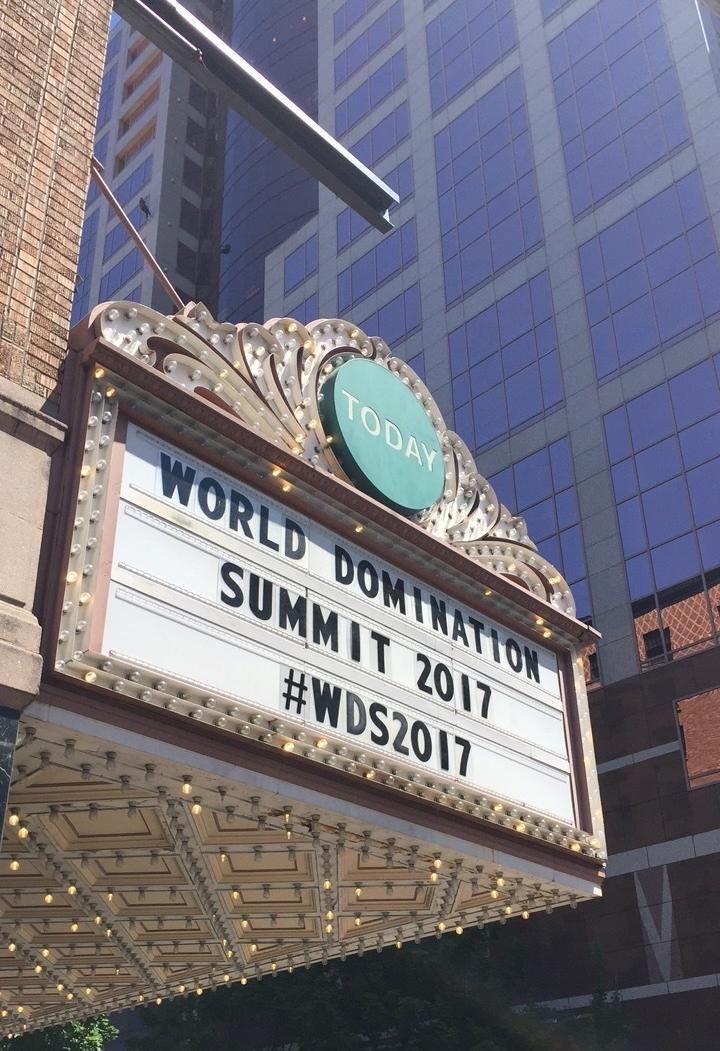 World Domination Summit 2017