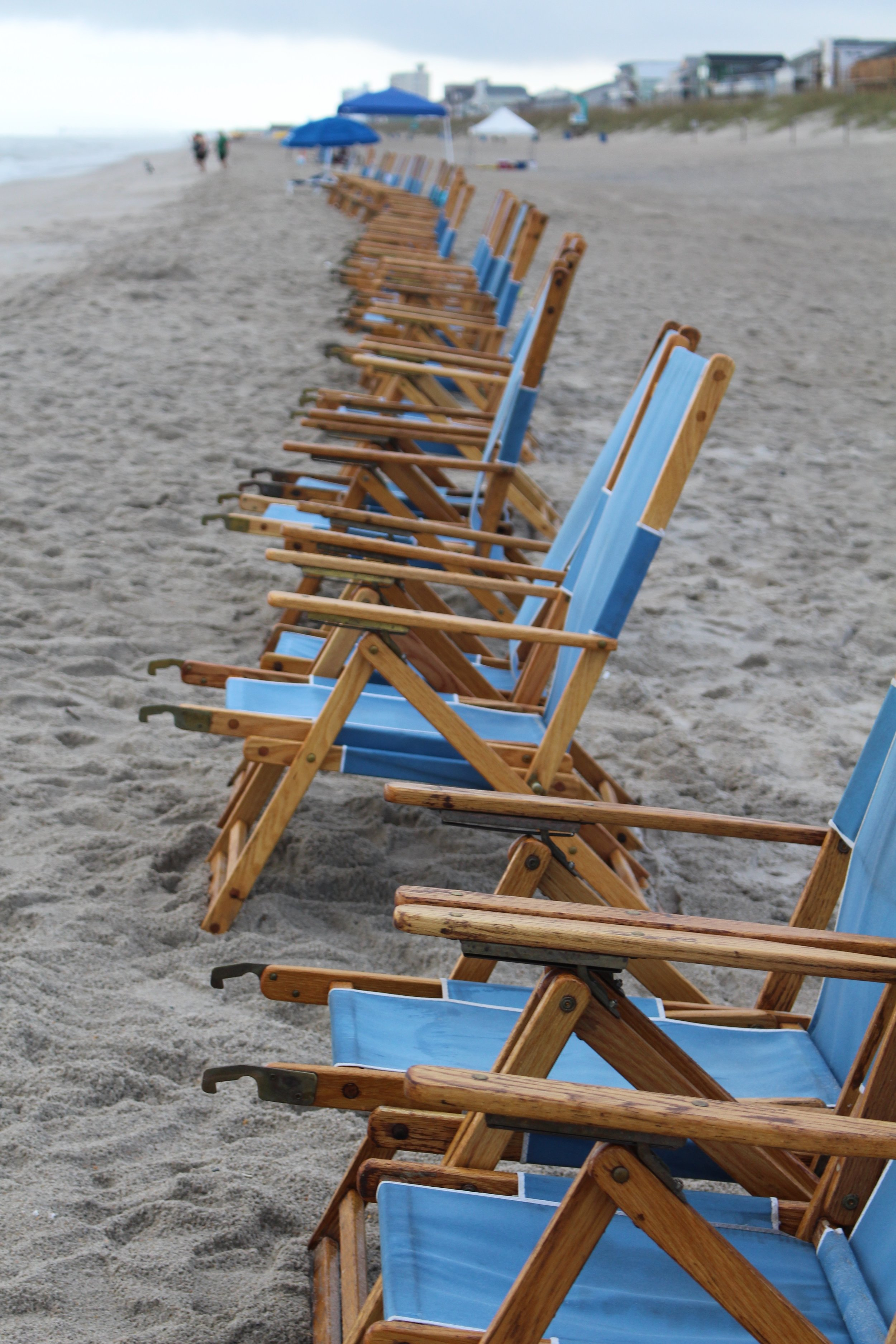 Beach Chairs and Mornings at Carolina Beach Photo By Alisha Wielfaert
