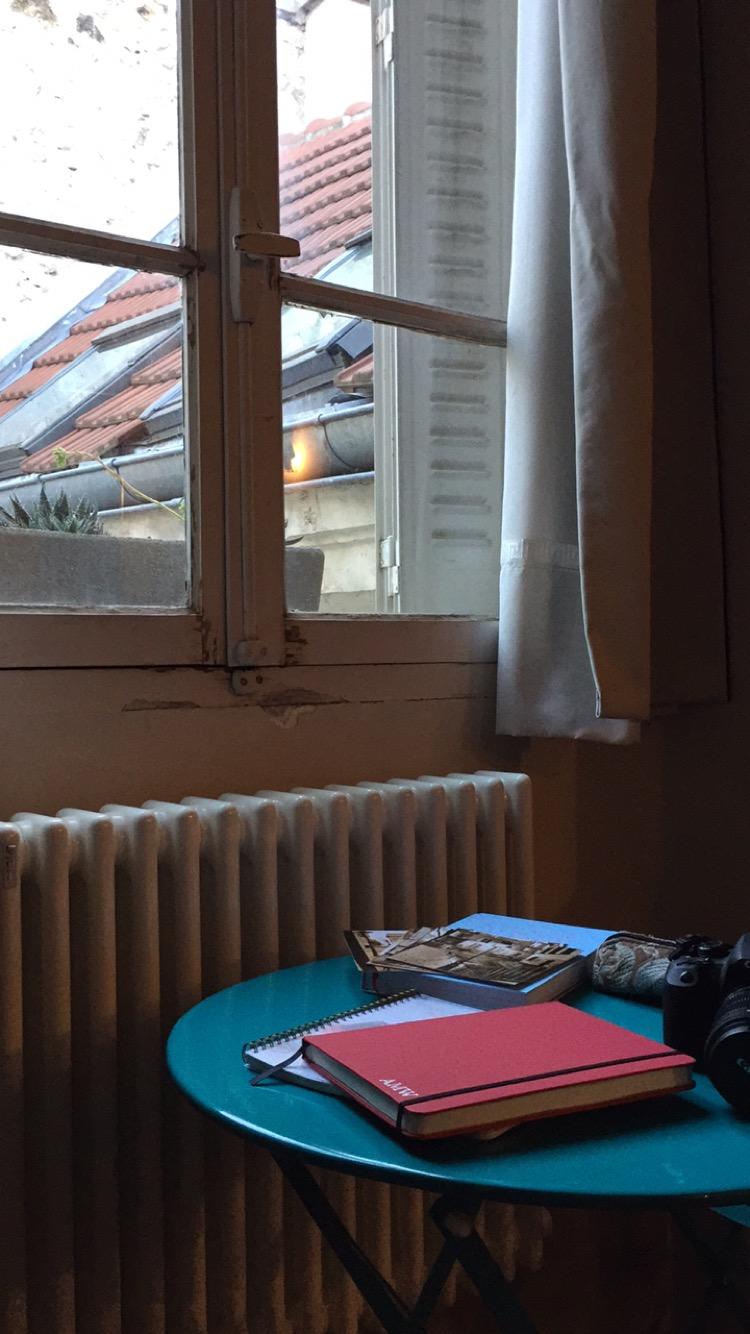 Paris Writing Corner