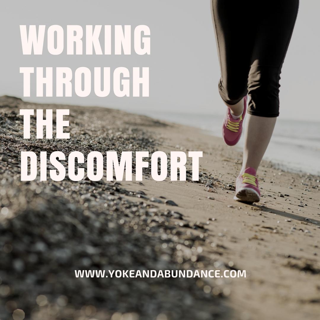 Working Through the Discomfort