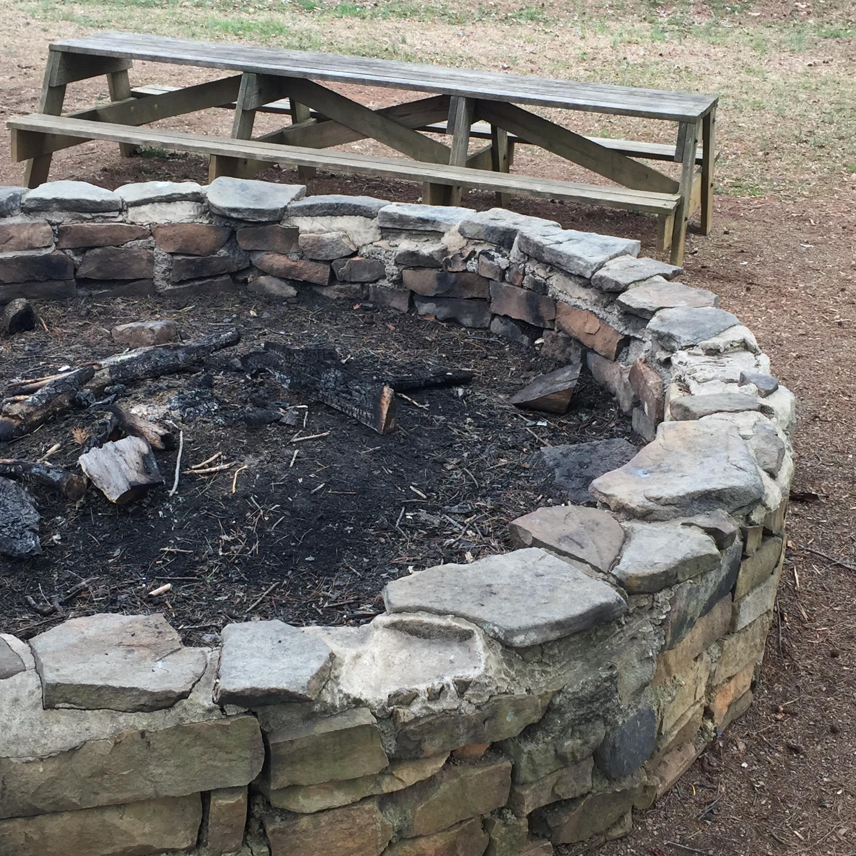 Huge Fire Pit