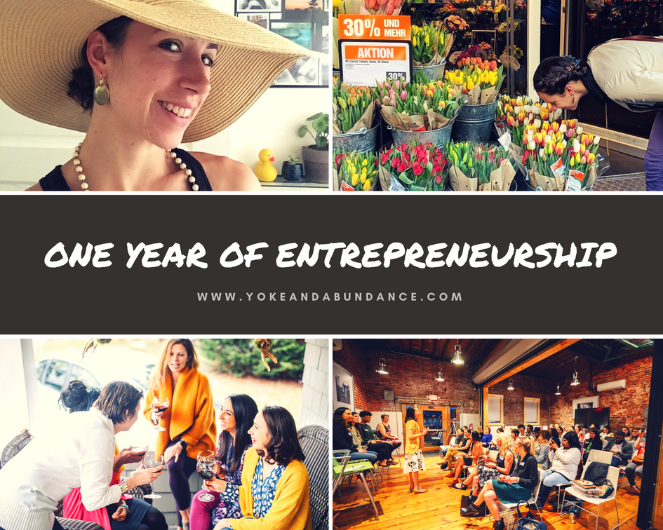 One year of Entrepreneurship