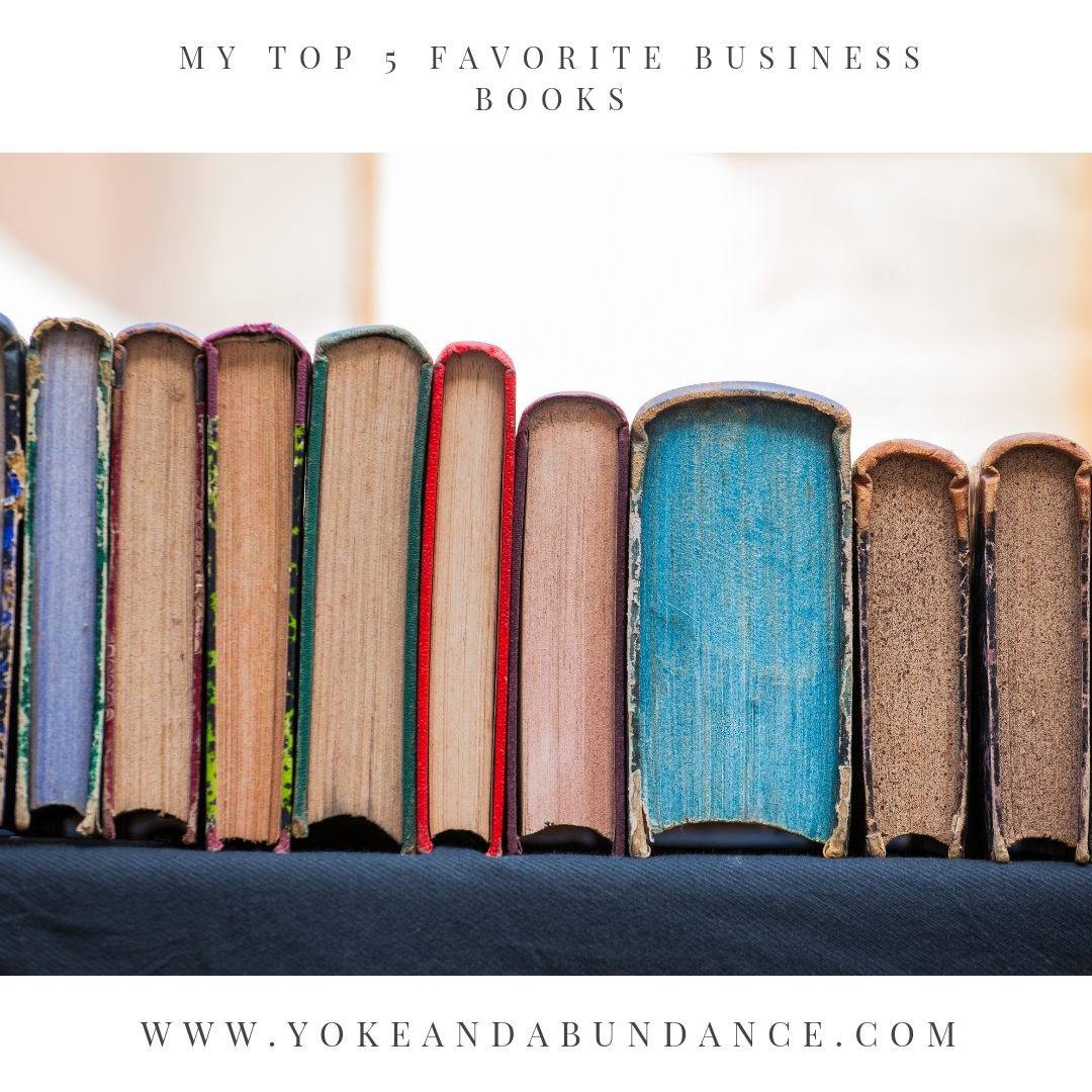 My Top 5 Favorite Business books