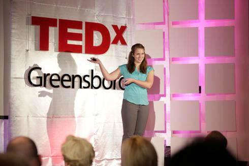 Presenting at Tedx Greensboro