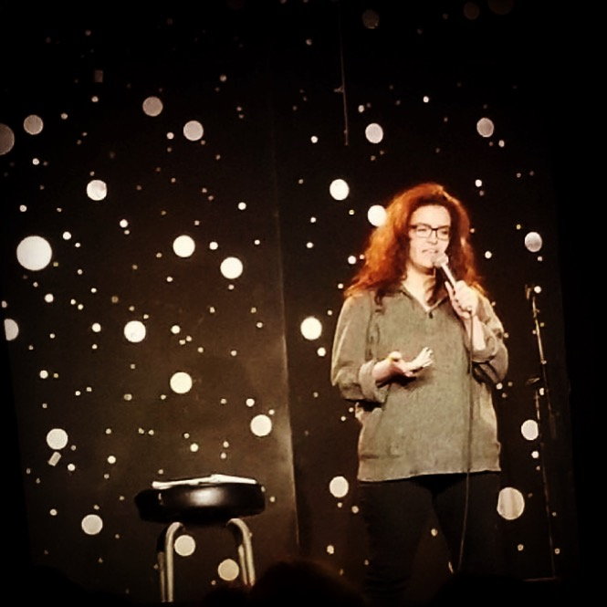 Darah Dale Willey Robinson doing Stand up.jpeg