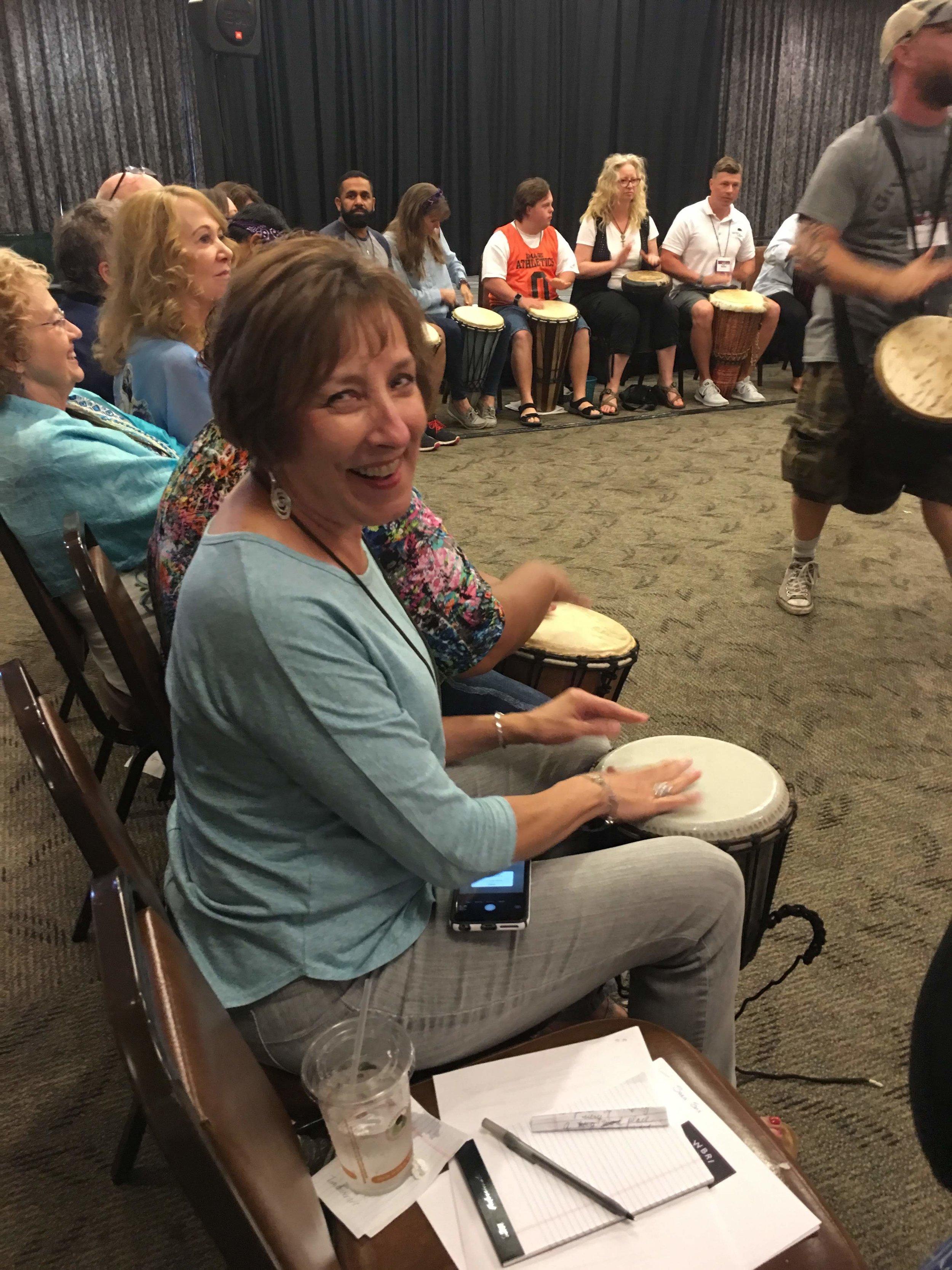 Susan Drumming.JPG