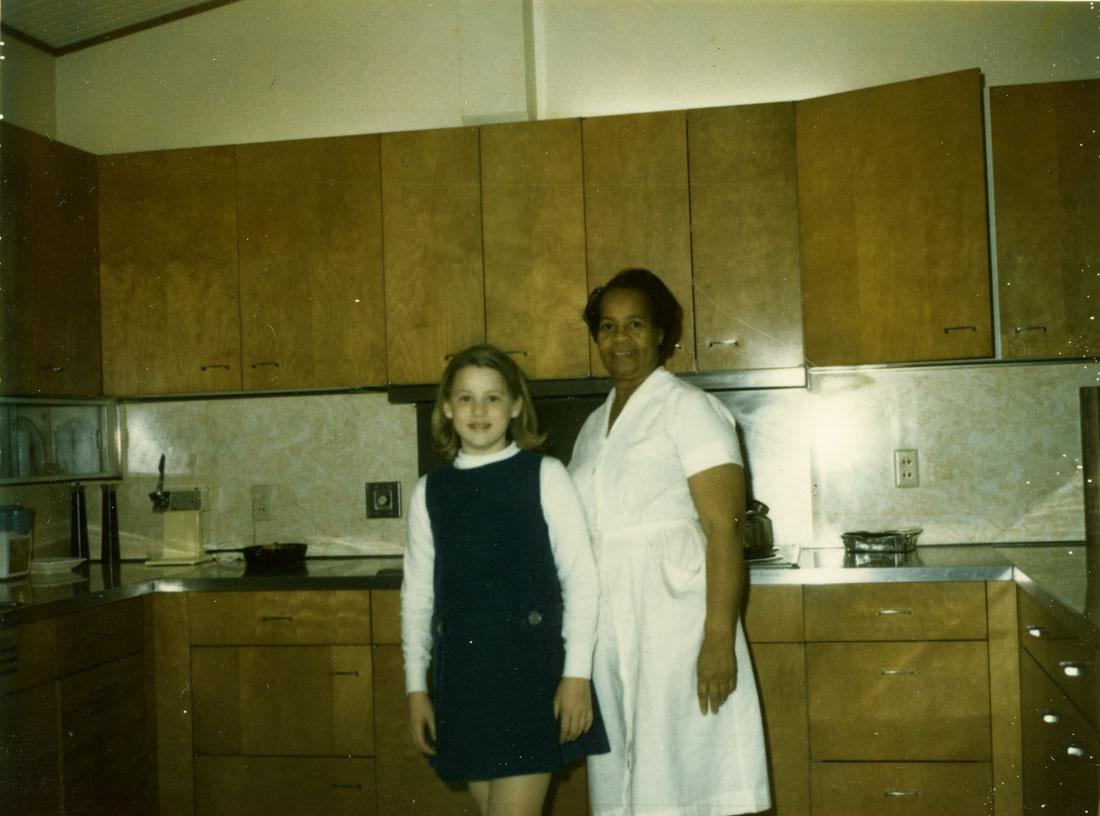 Karine and me, 1964.