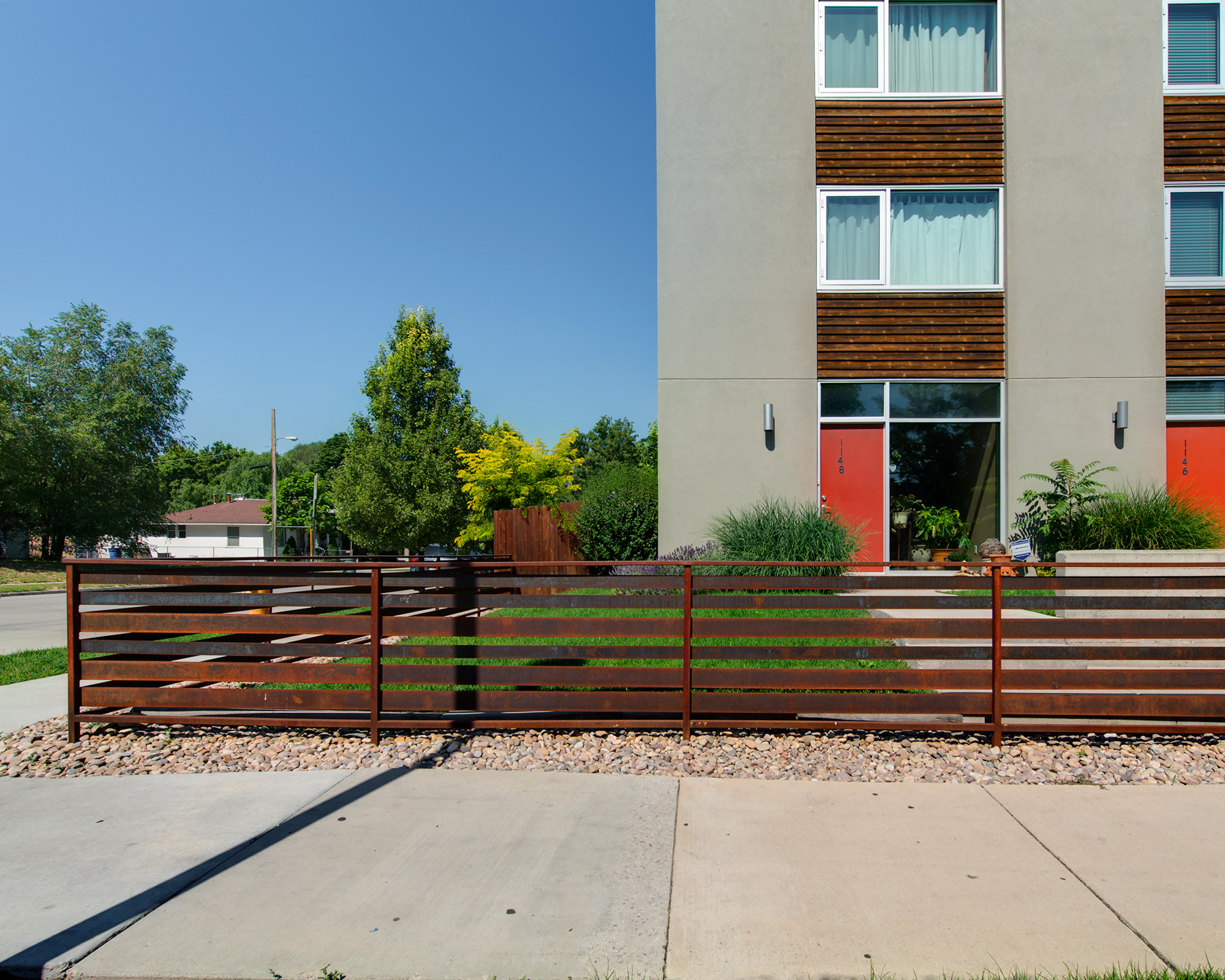 20' METAL FENCE SET OF 14 UNITS
