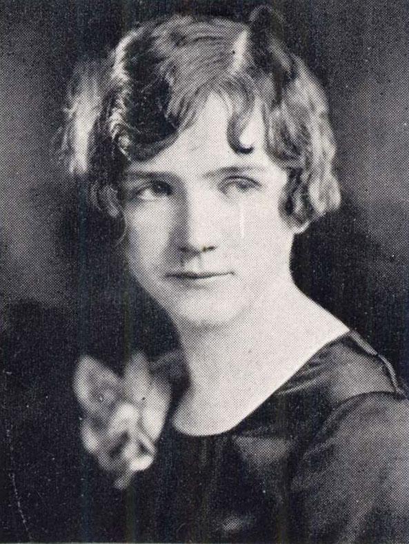 Rachel Carson's 1928 Yearbook Portrait - Pennsylvania College for Women