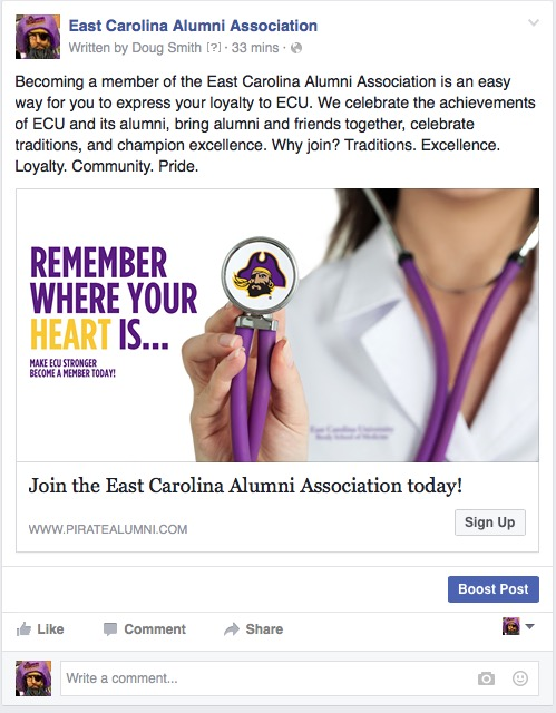 East Carolina Alumni image