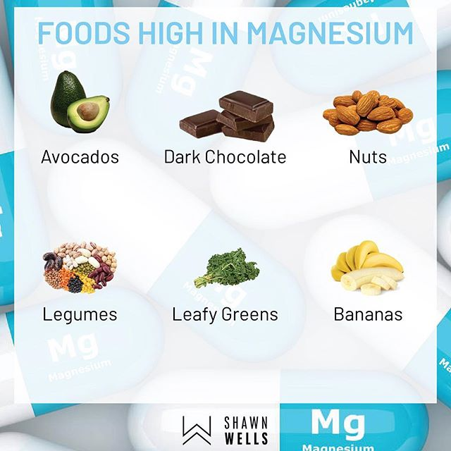 While supplementing with magnesium can be a solid way to avoid deficiency and offer additional benefits, try to consume whole-food sources (like those above). Above are some foods that I regularly eat that contain magnesium. As a rule of thumb, dark green leafy vegetables (such as spinach, Swiss chard, turnip greens, beet greens, mustard greens, and kale), legumes, nuts, seeds, and whole grains are the best dietary sources of magnesium.