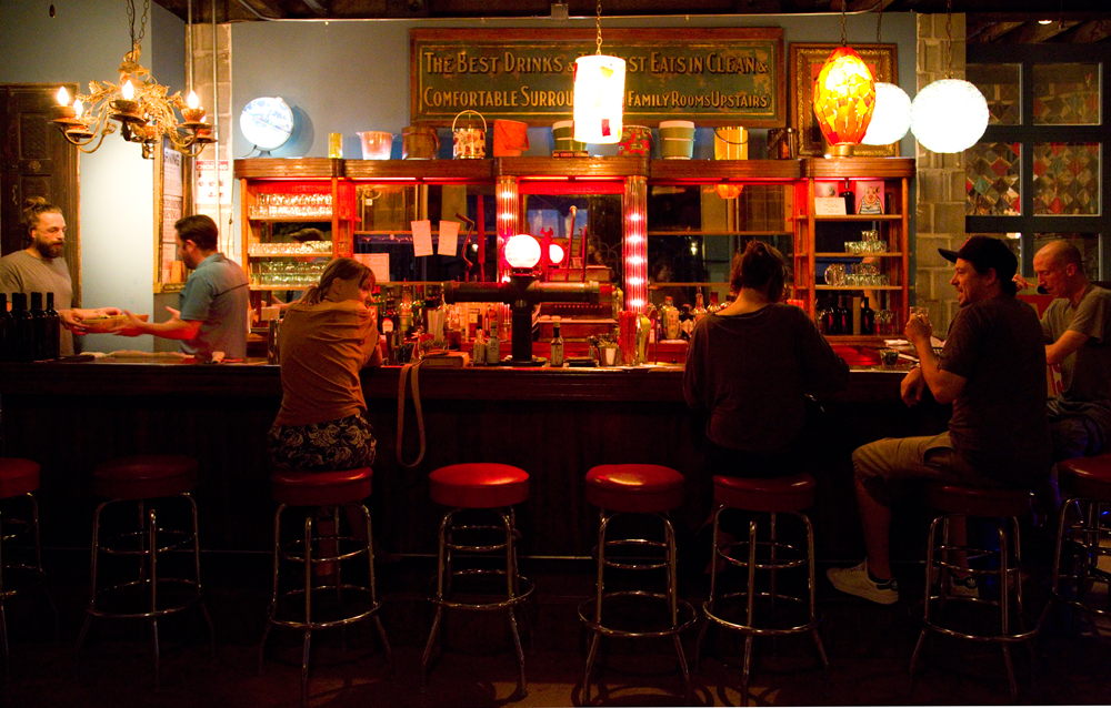 BACK BAR: DIARY OF THE NEW GUY IN TOWN by Devon Burnham