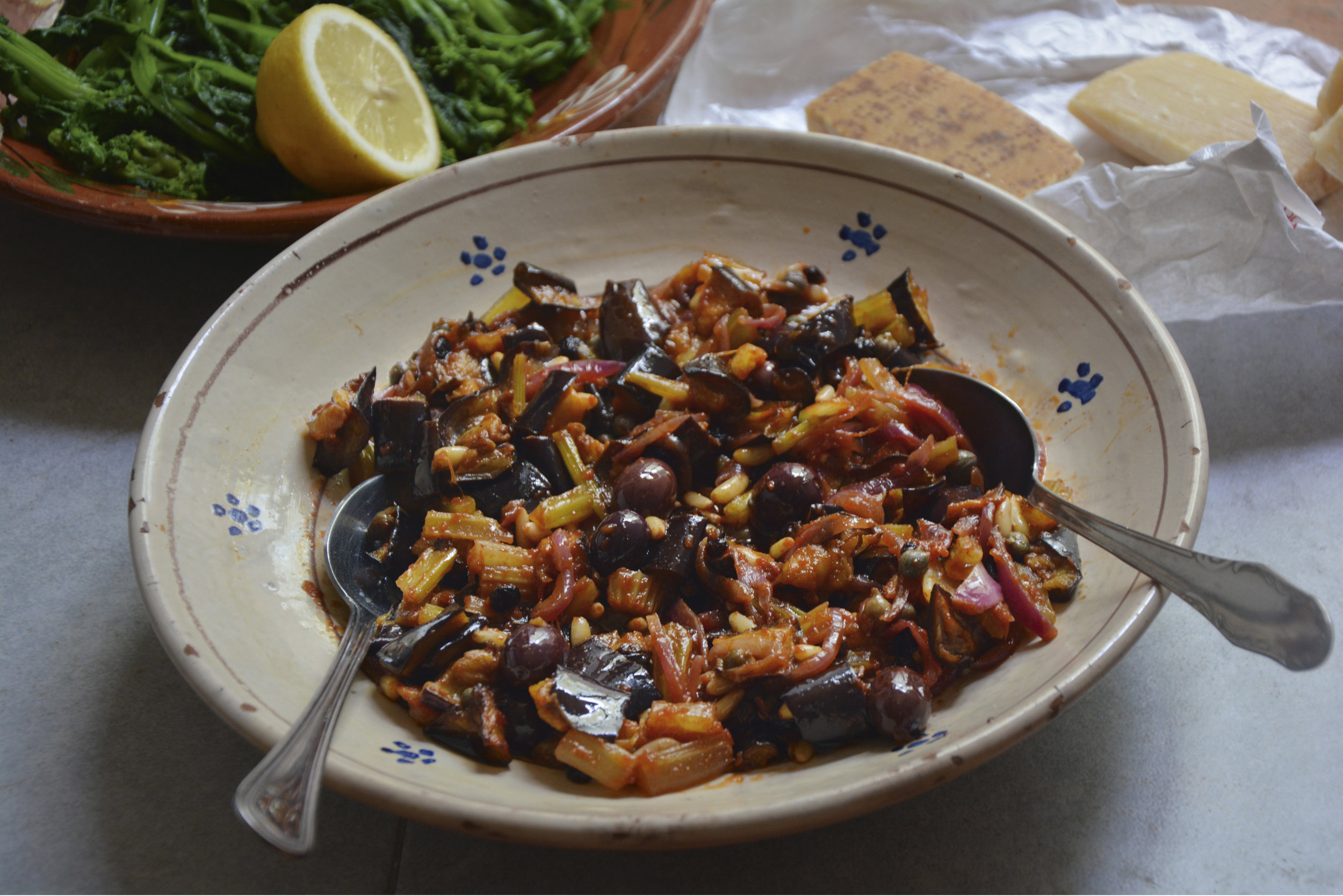 CAPONATA by Rachel Roddy