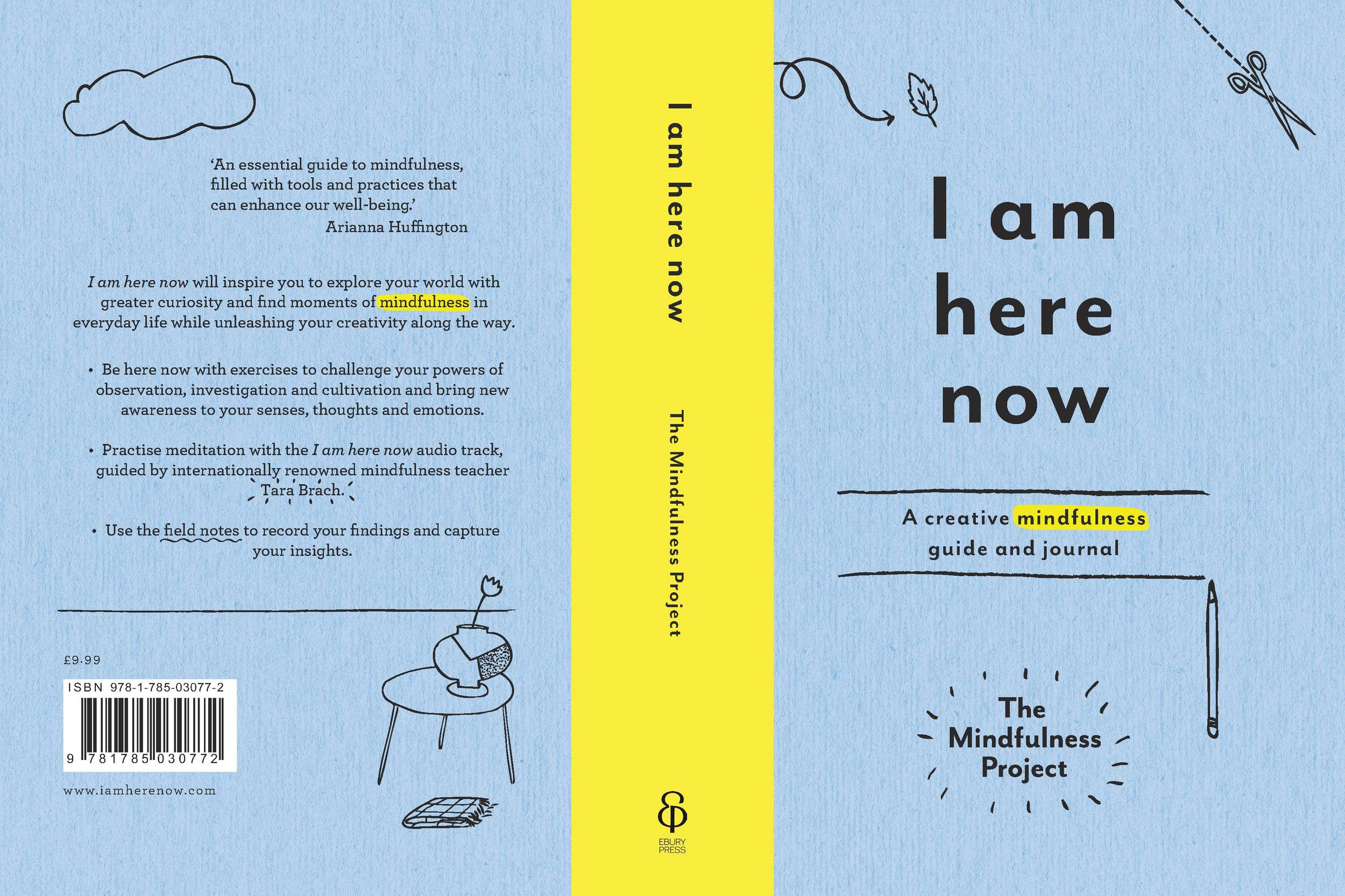I am here now - a creative mindfulness guide and journal