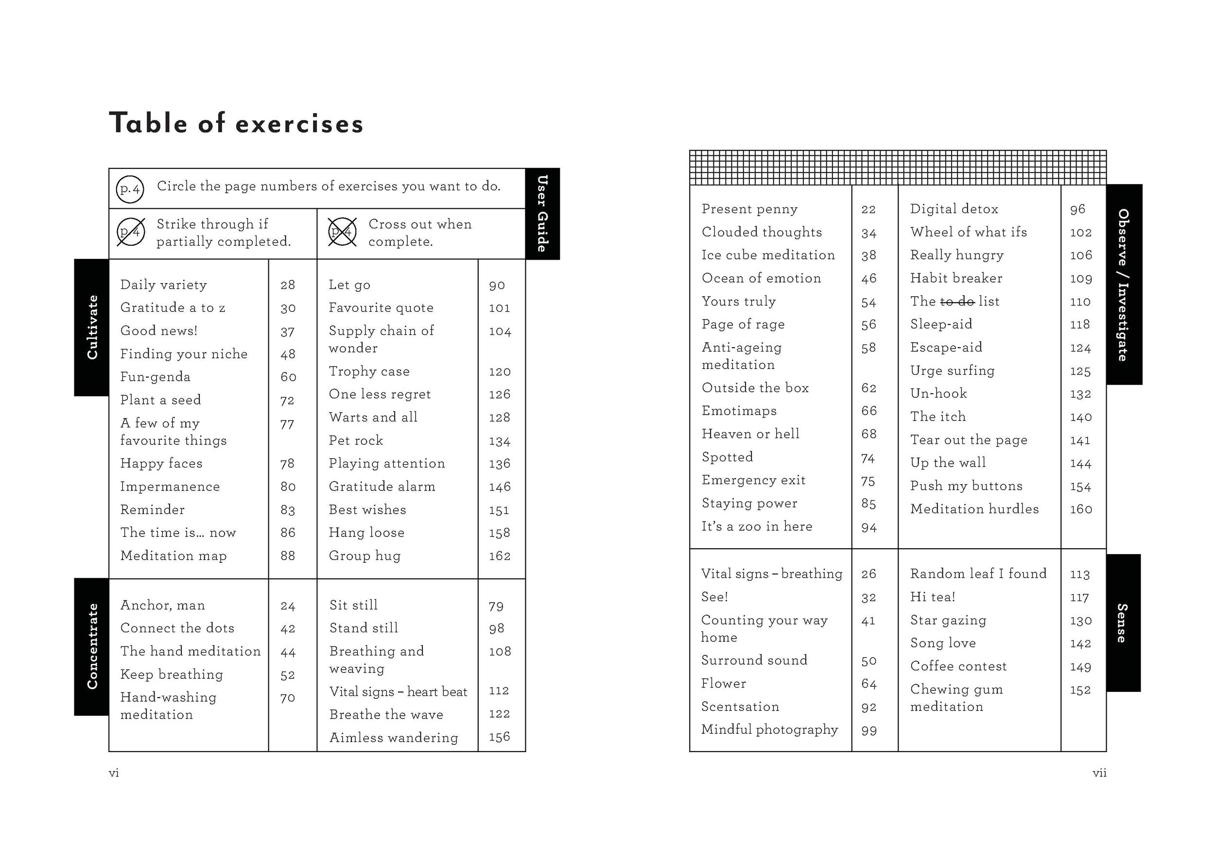 I am here now table of contents.jpg