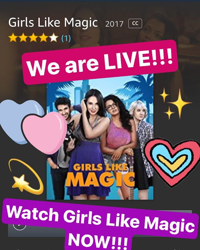 Guys we are finally up on Amazon! Thank you so much for your patience. I'm so happy to finally be able to share Girl Like Magic with you!! 💗🙏⭐️🌈🥂🌺💛✨💘 @yasmindaballarinda @style_bystacy @im_a_sunny @msporterkelly @crosay @breagrant @kitwilliamson @johnhalbach @dominic_adams