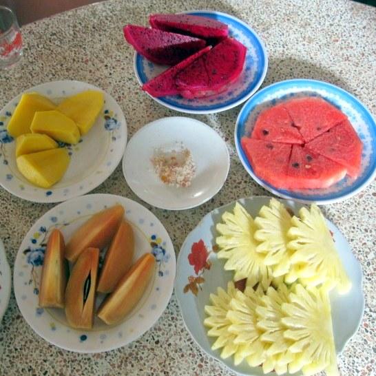 Fresh fruit, Mekong Delta.