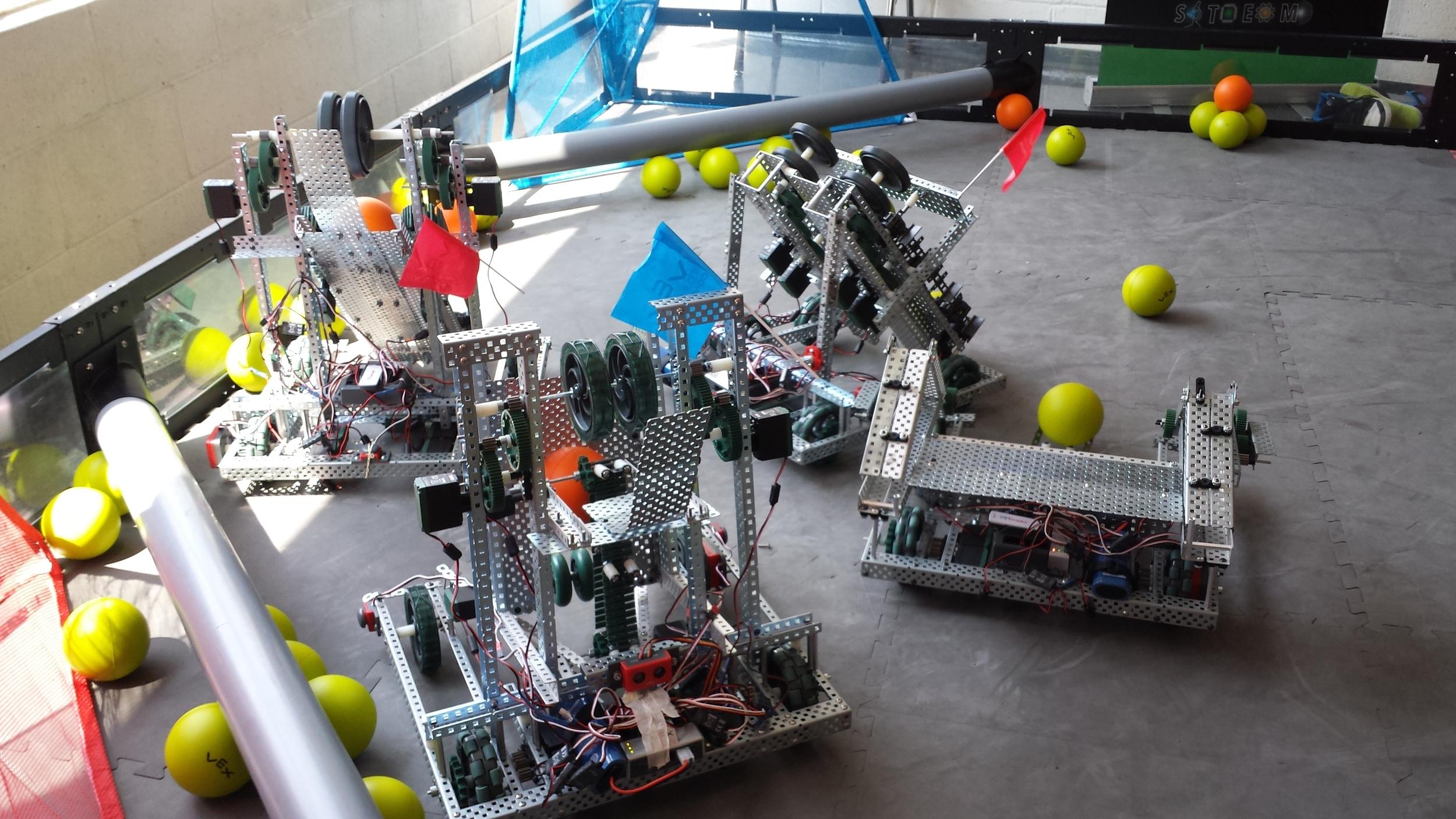Camper robots (VEX 1.5 Woodbridge)