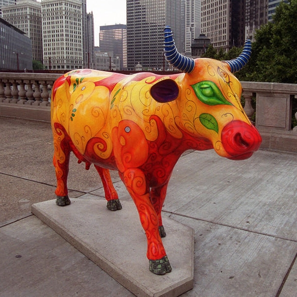 CowParade in Chicago