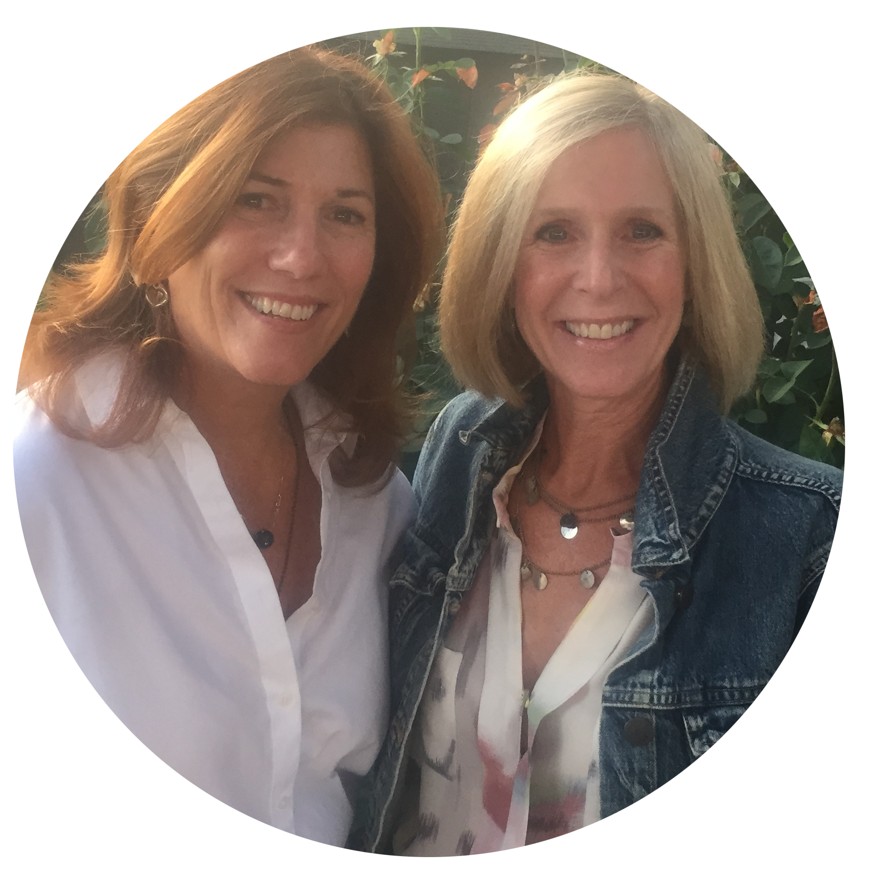 Wendy Jann - left, Jennifer Sutman - right