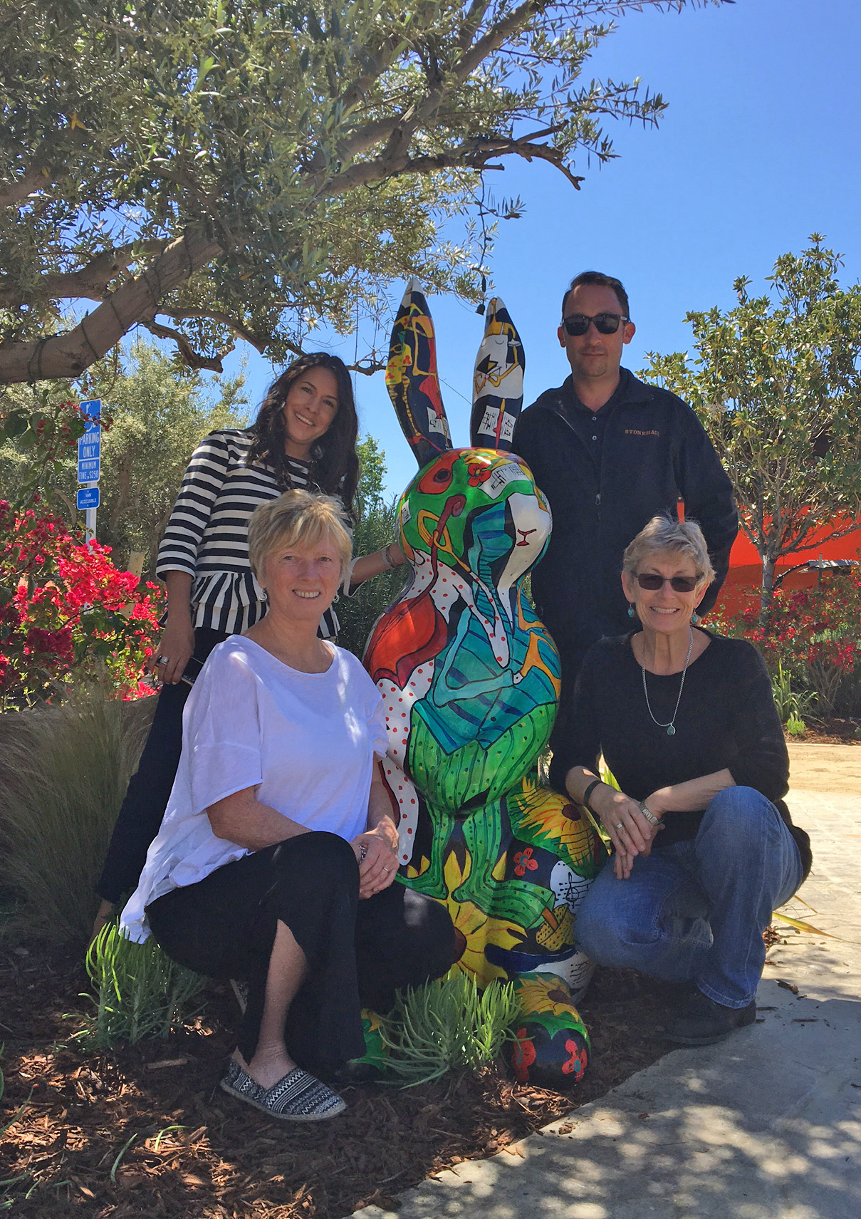 Art of the Tango by  Ann Krasner , placed at  Stonehaus  in Westlake Village, CA