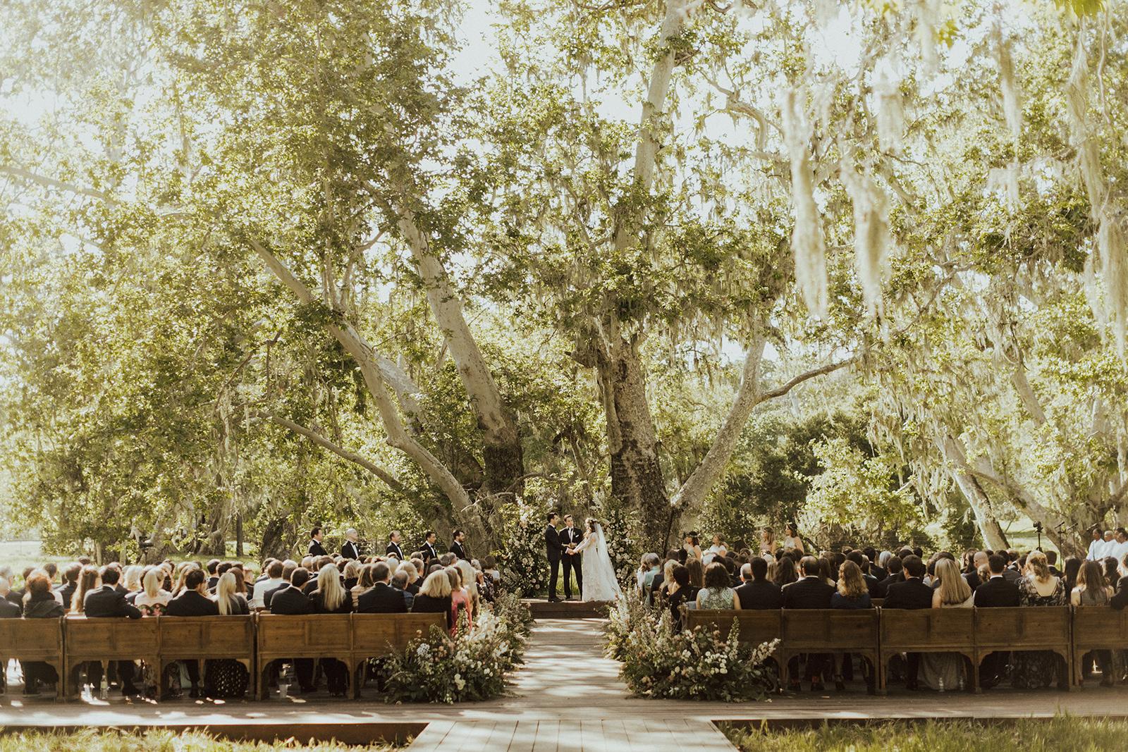 Alisal Ranch Wedding Ceremony