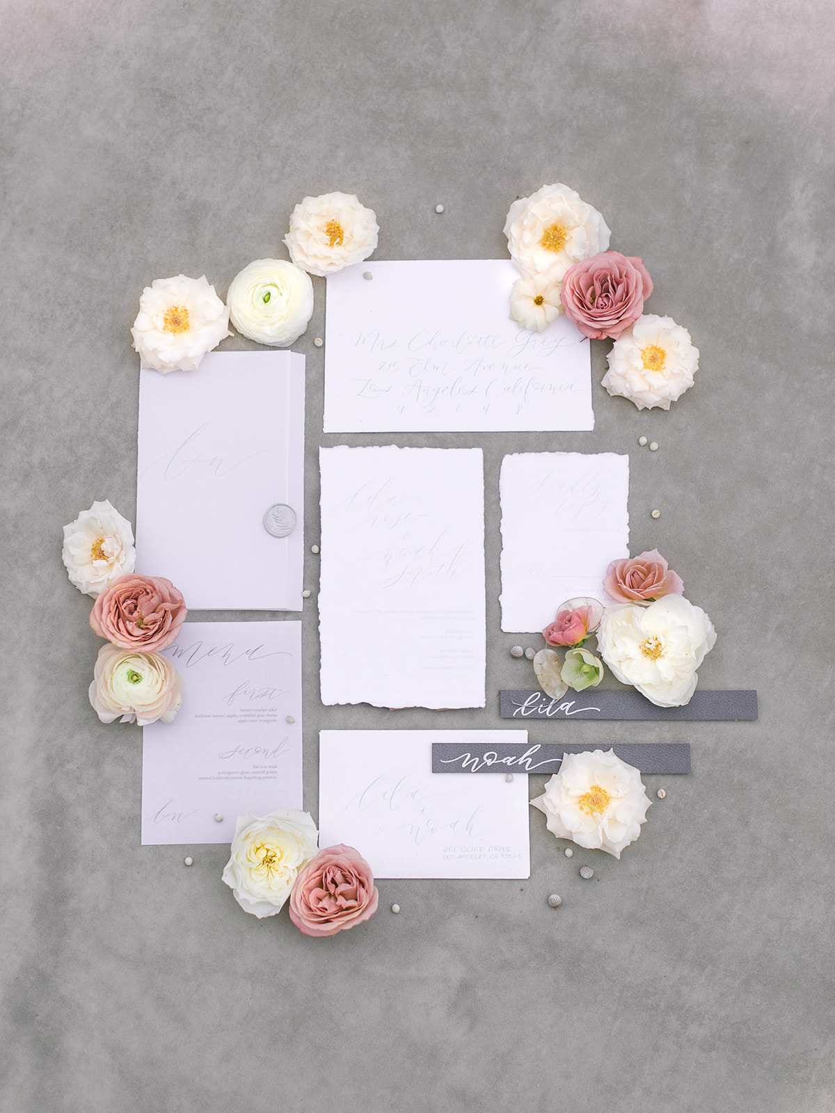 Romantic wedding invitation suite.jpg