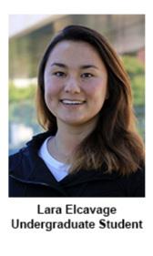 Lara Elcavage  Life Science Technician